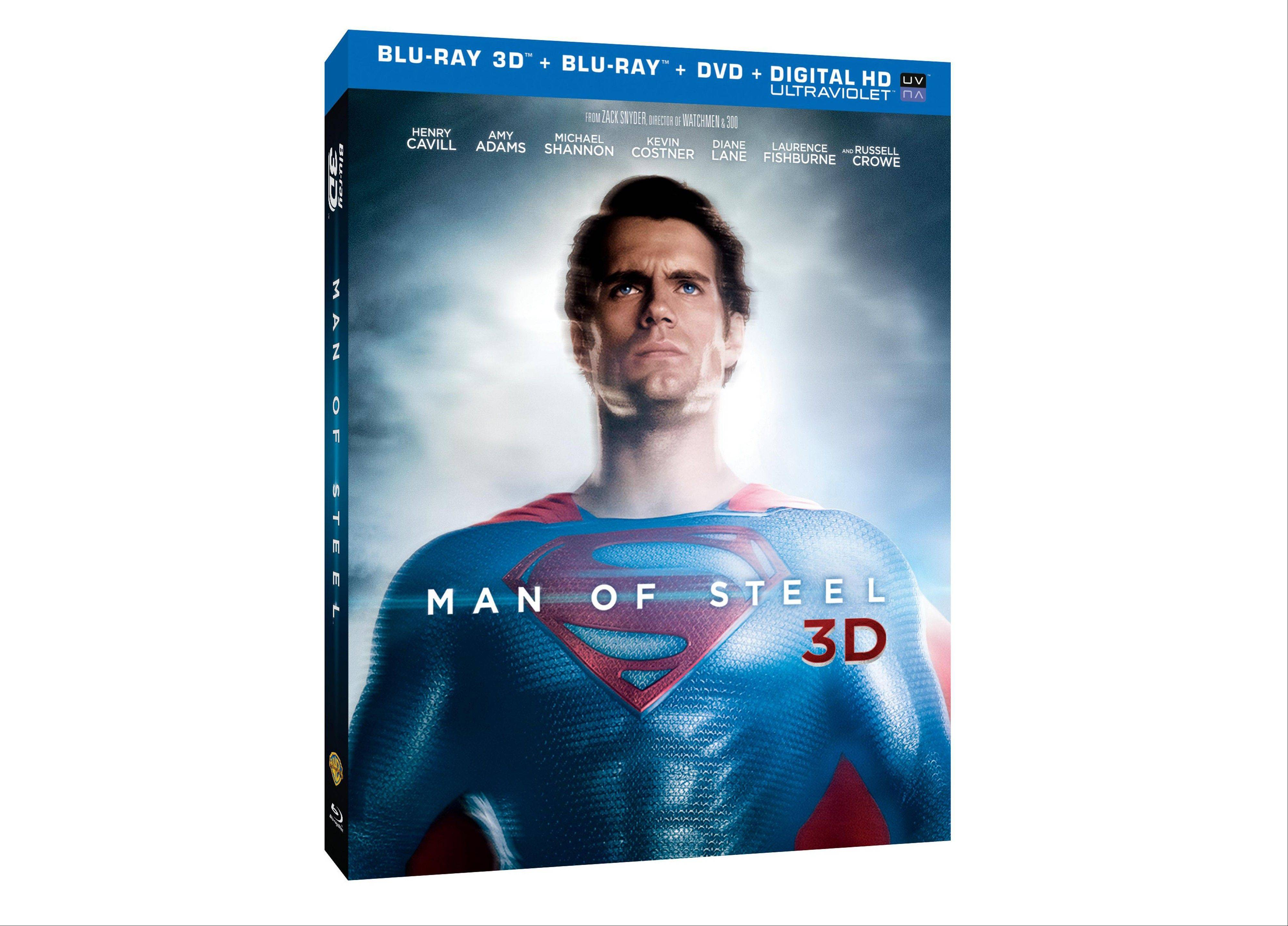 "Clark Kent is forced to confront his extraterrestrial past in ""Man of Steel 3D."""