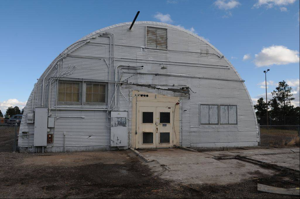 The Quonset hut is where the bomb that was dropped on Nagasaki was assembled in New Mexico.