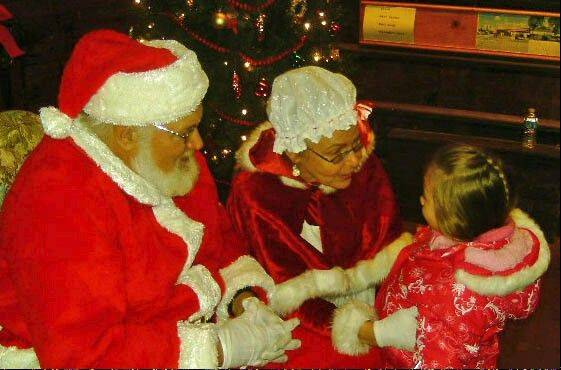 Following Lisle's Santa Parade on Saturday, Santa and Mrs. Claus will be on hand at Once Upon a Christmas to hear children's wishes.