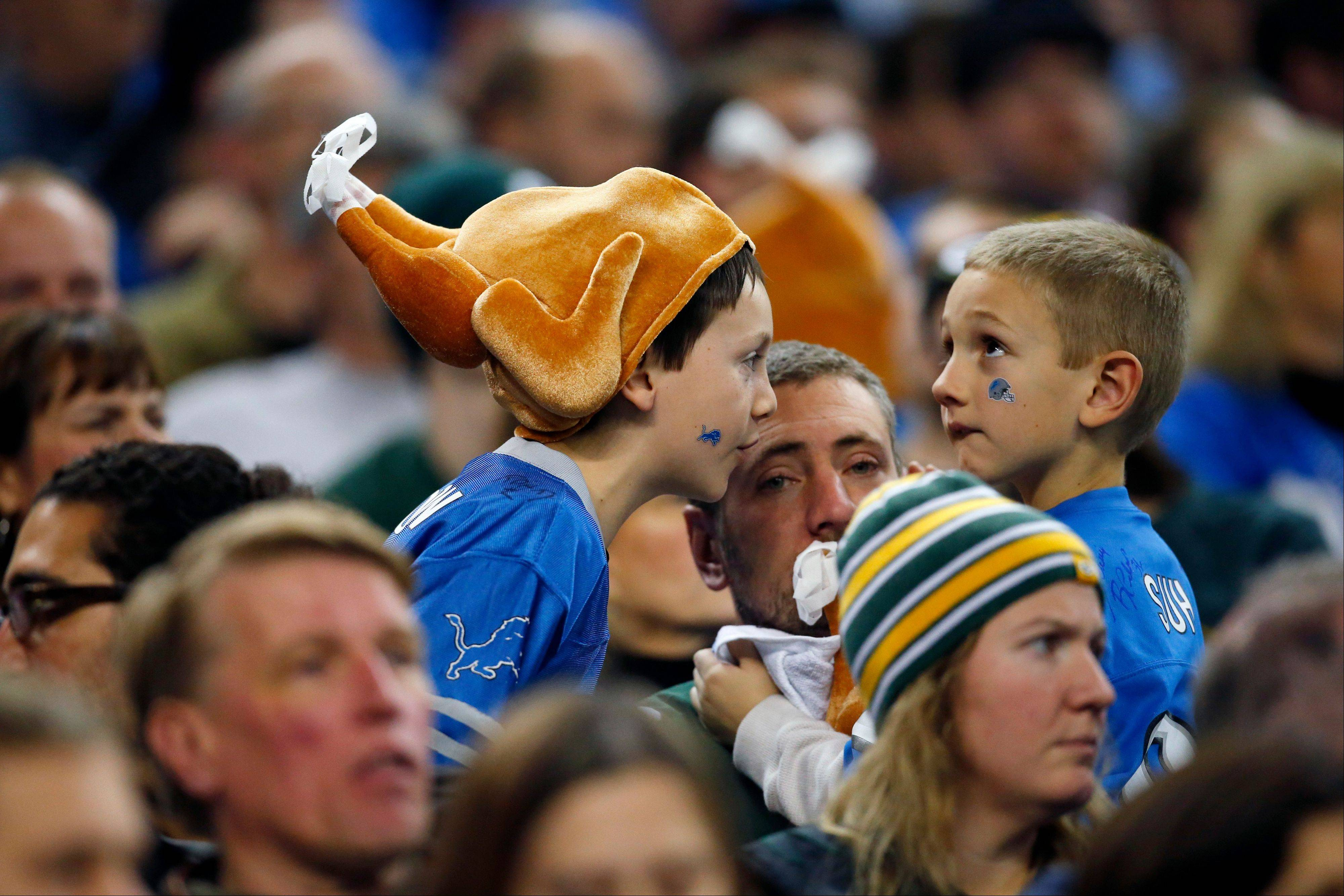 Bears fans are hoping the Lions play like the turkeys they sometimes can in the team's remaining four games.