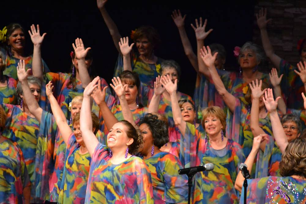 The Choral-Aires Chorus of Elmhurst placed 8th in the world at a recent Sweet Adelines International competition.