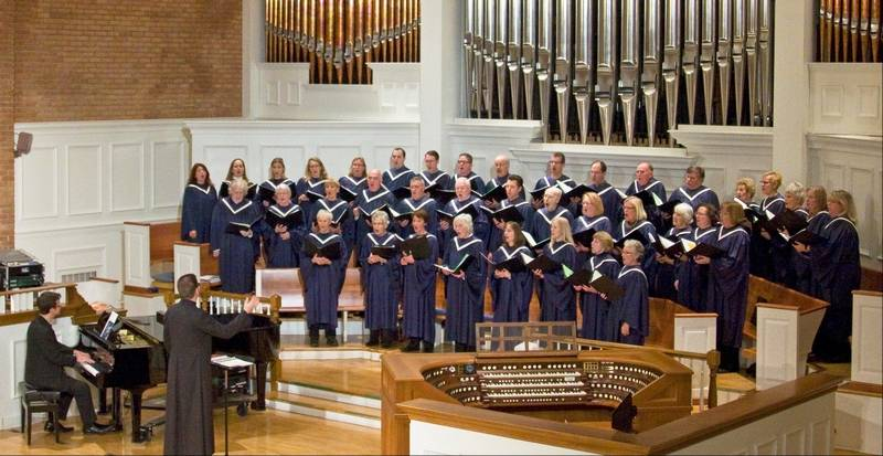 Glenview church hosts do it yourself messiah carol sing join the glenview community church chancel choir pictured and others 730 pm solutioingenieria Gallery