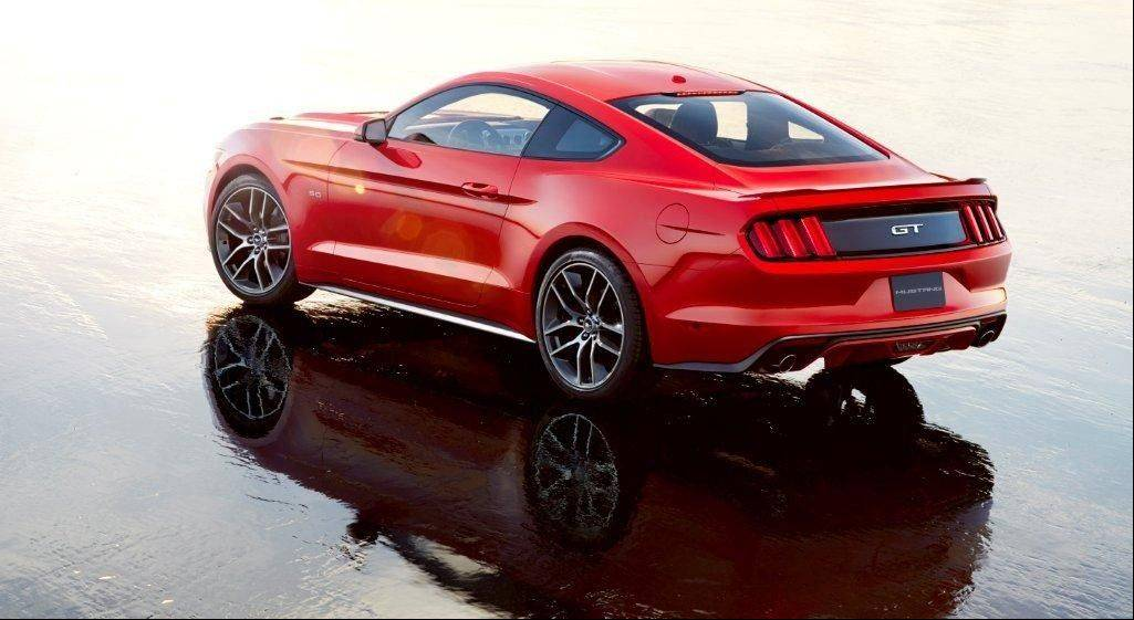 Ford revealed the new 2015 Mustang on Thursday at events in New York, Los Angeles, Shanghai, Sydney, Barcelona and its hometown of Dearborn.