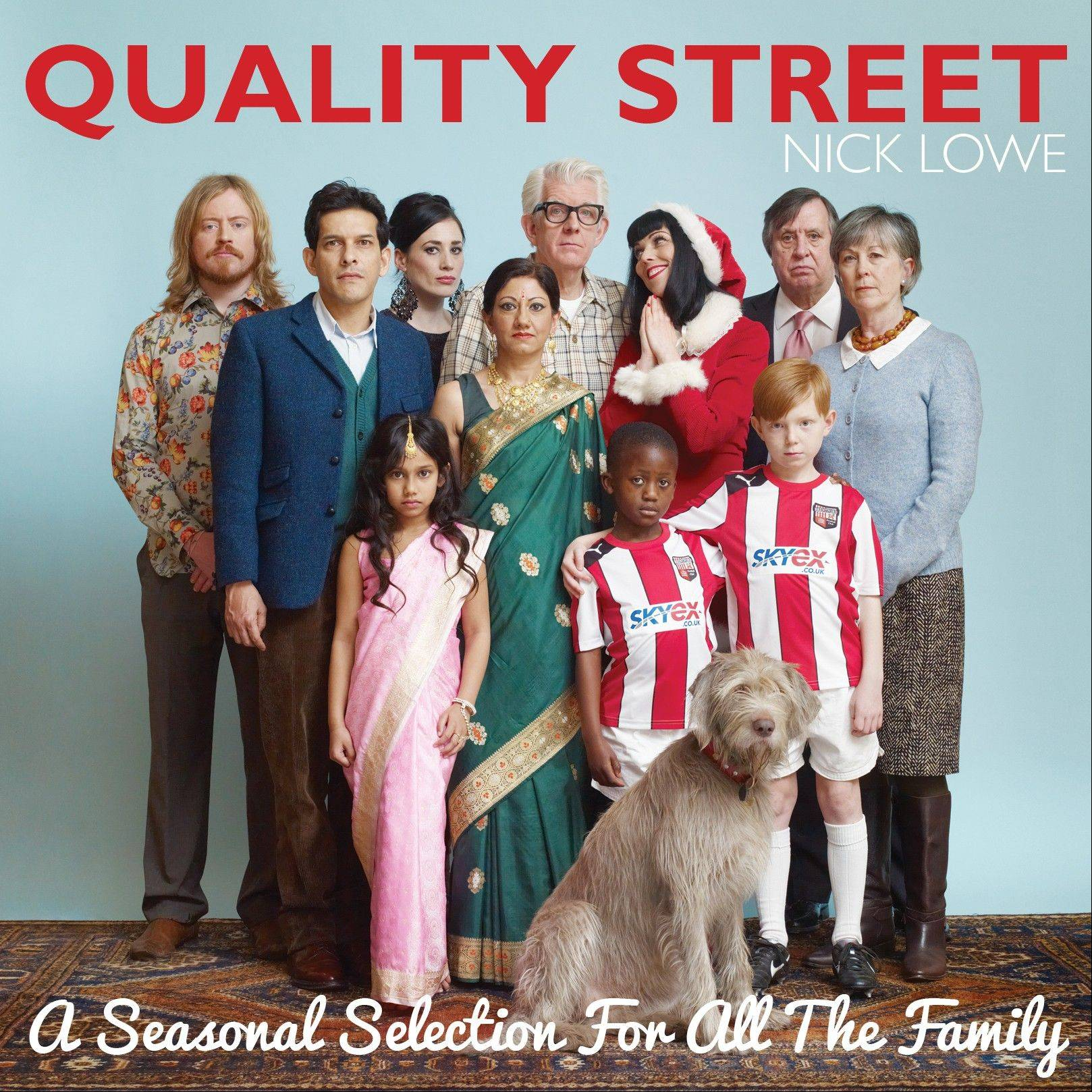 Nick Lowe recently released �Quality Street: a Seasonal Selection for All the Family.�