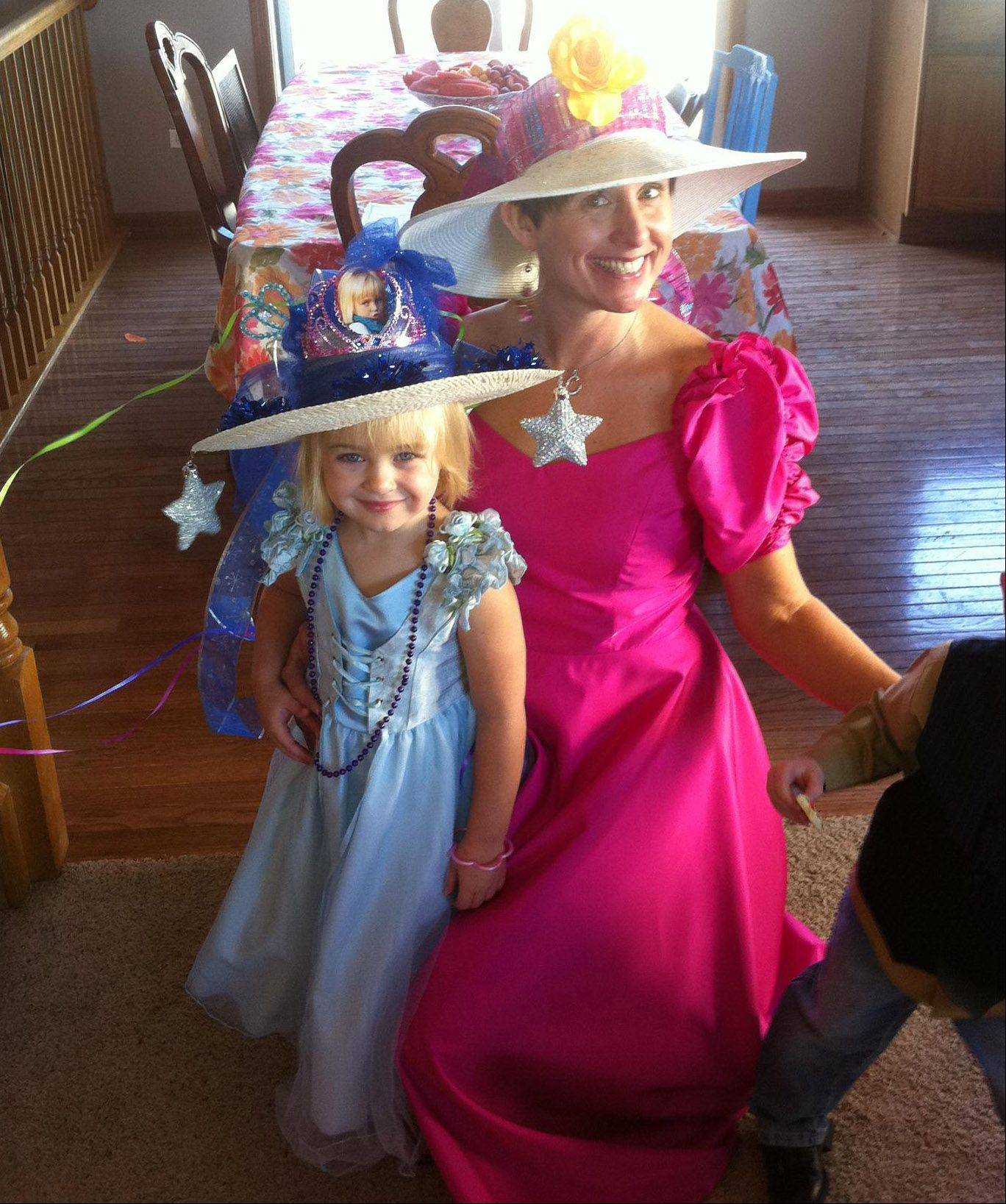 Claire Haran�s birthday falls near Christmas, so her mom, Cynthia, tries to do something special for the young girl every year. They had a tea-party-themed bash when she turned 4.