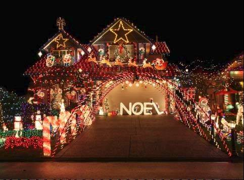 If your house resembles this one in December, you definitely should enter our holiday lights contest.
