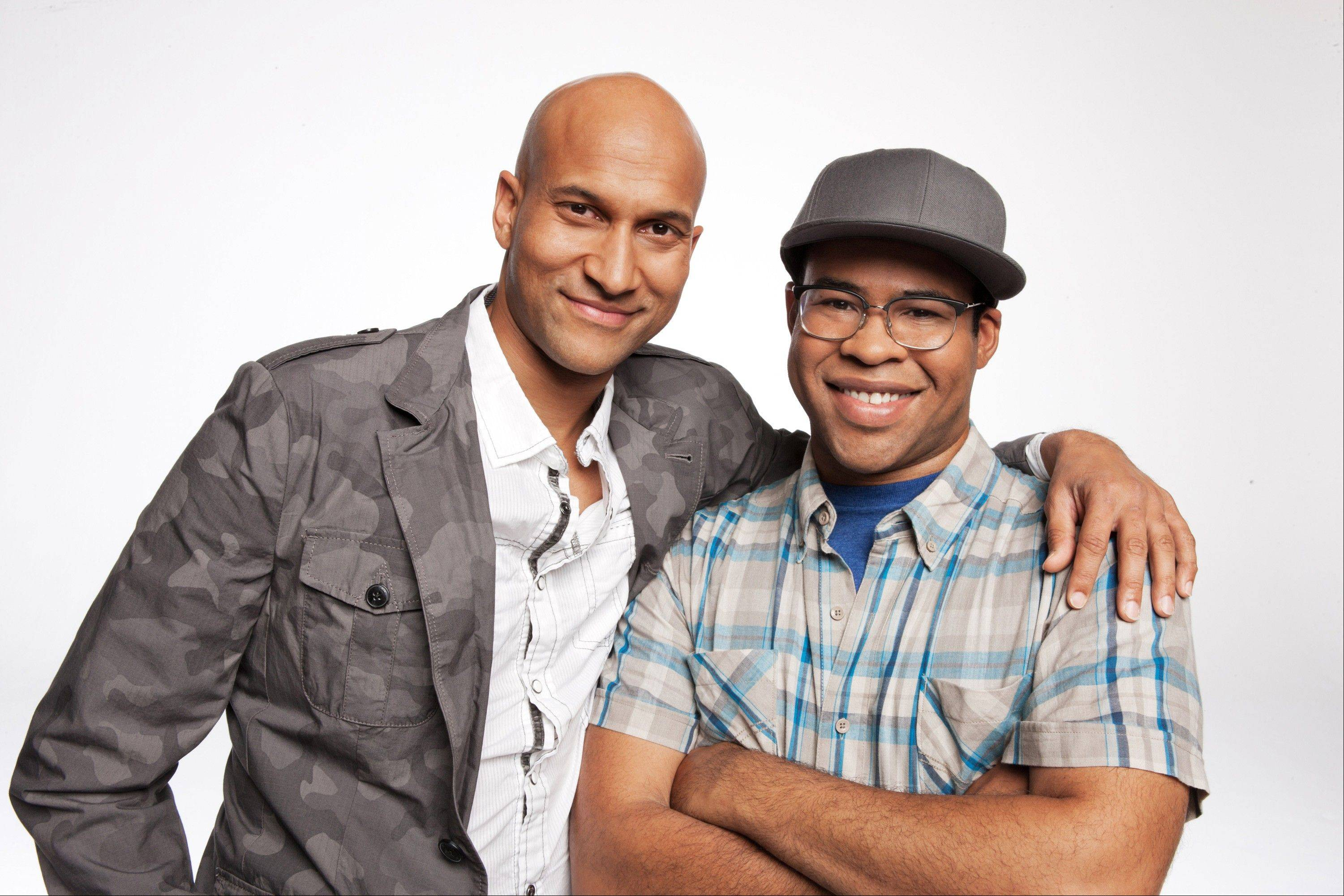 "Keegan-Michael Key, left, star of the Comedy Central show ""Key and Peele"" with Jordan Peele, will be a guest speaker at a diversity conference Friday in Lombard."
