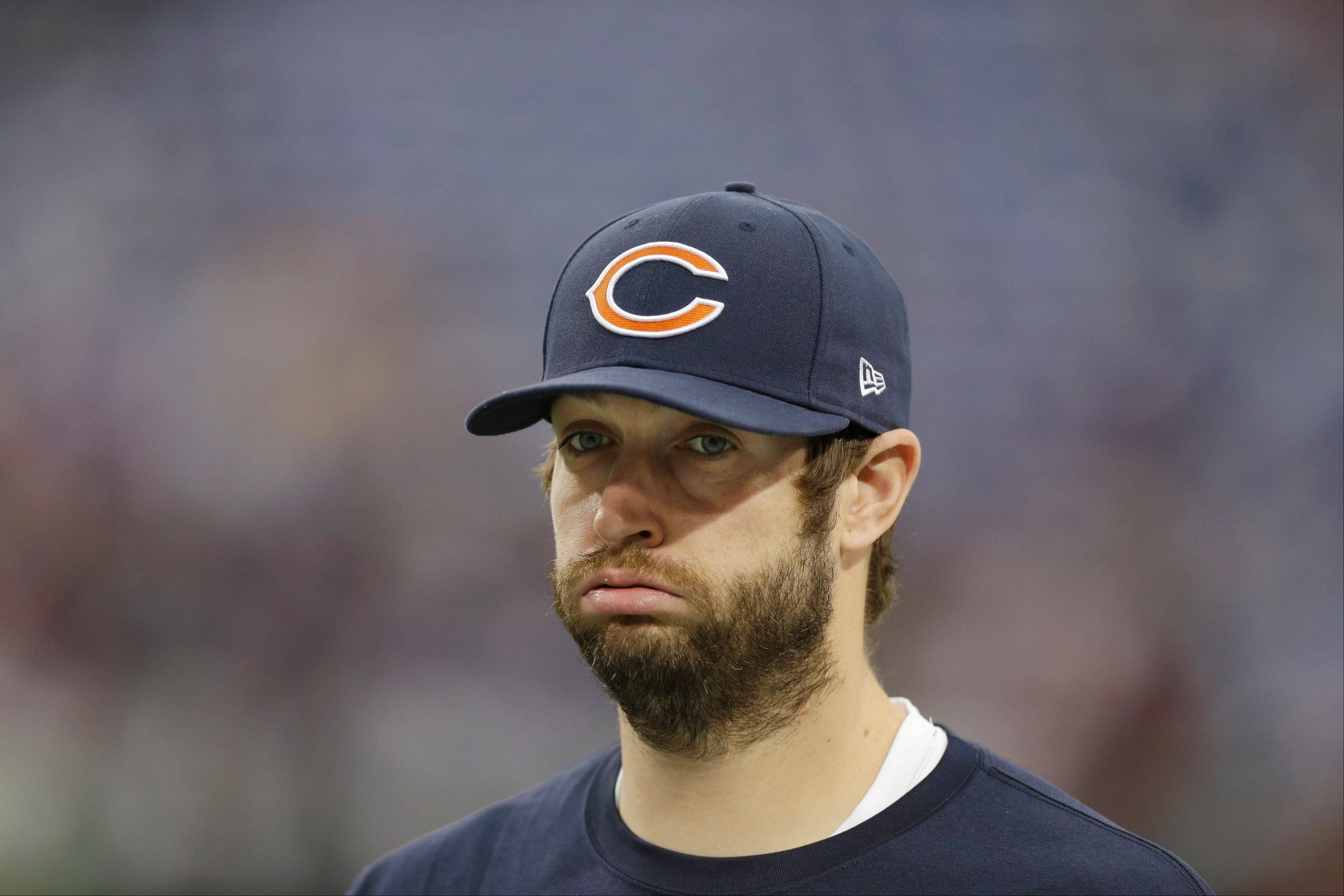Jay Cutler will not start Monday night against the Cowboys.