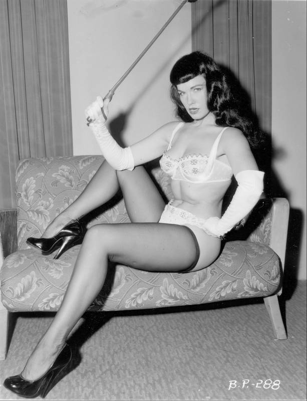 Betty Page Photos: Doc Reveals Almost All About Alluring Bettie Page