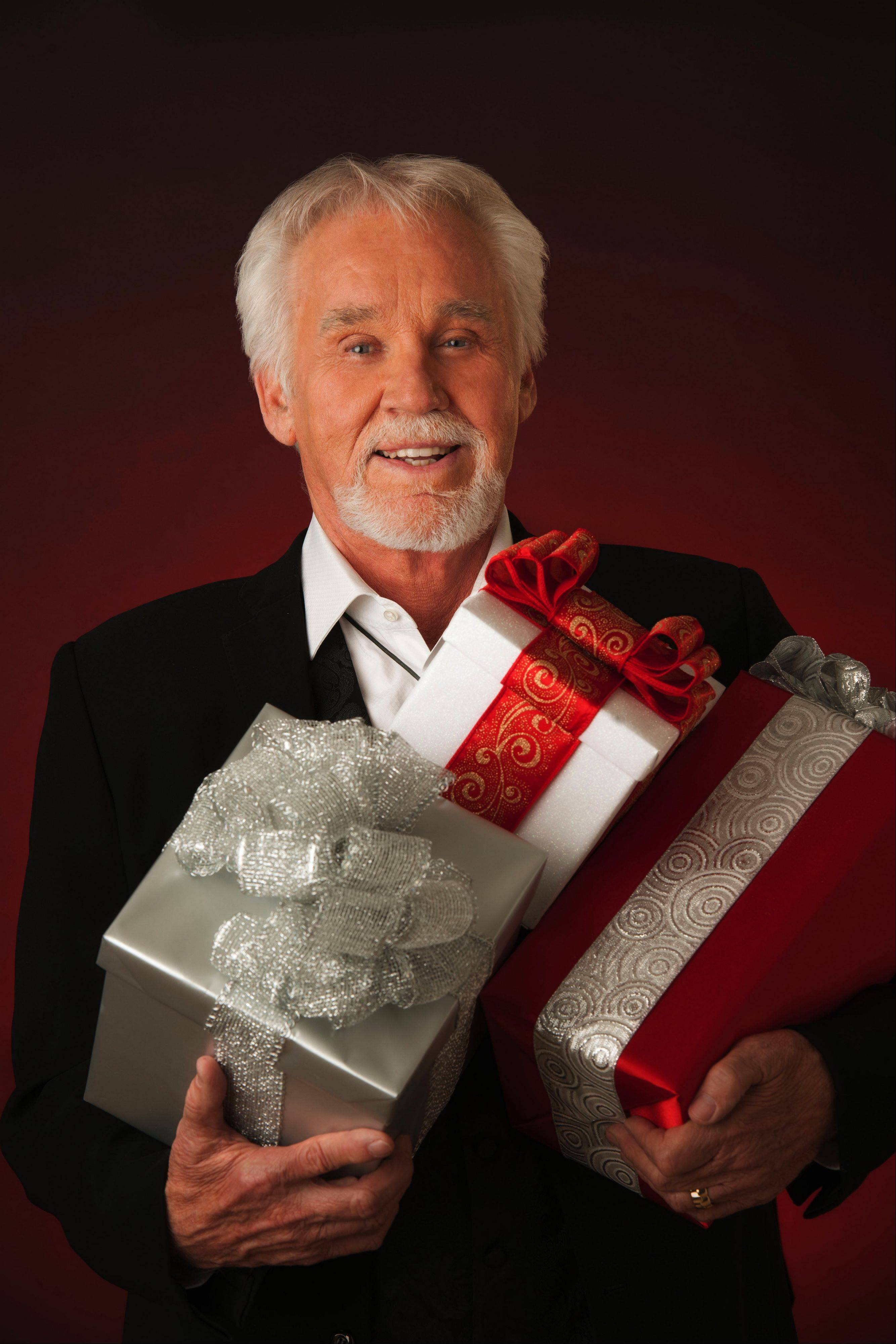 "Kenny Rogers delivers his ""Christmas & Hits Through The Years"" holiday show to North Central College in Naperville."