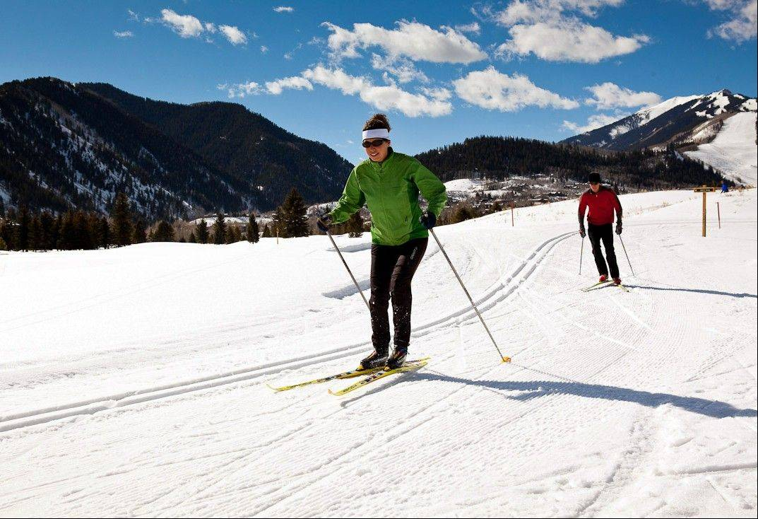 There are more than 60 miles of groomed cross-country and snowshoe trails around Aspen and Snowmass, open to all comers and among a number of free things to see and do in the area.