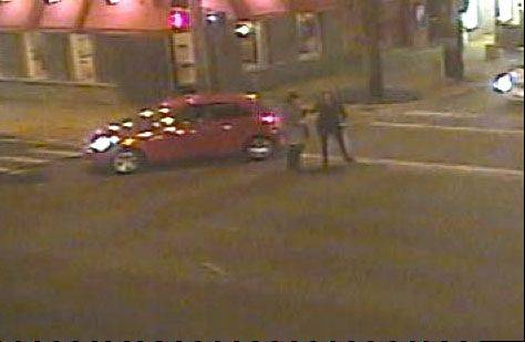 Naperville Crime Stoppers is offering a reward of up to $1,000 for information that leads to an arrest in a hit-and-run accident Monday afternoon at Washington Street and Jefferson Avenue in the city's downtown.