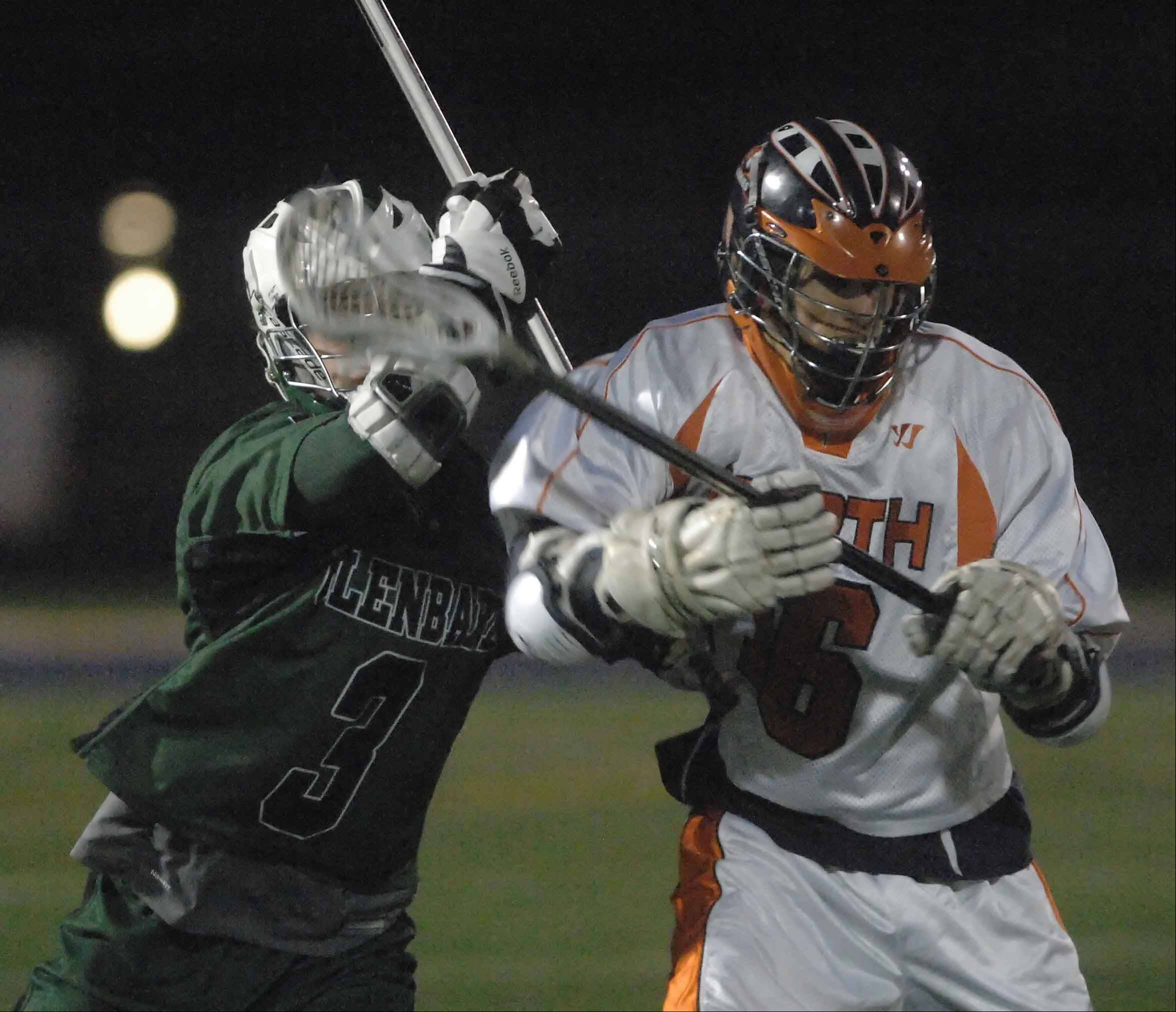Boys and girls lacrosse clubs at Naperville North and Naperville Central high schools will remain clubs for the spring season, but the school board could consider deeming them official sports by spring 2015.