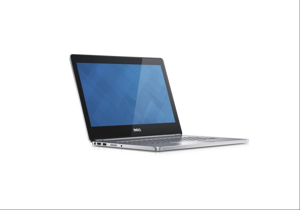 This undated image provided by Dell shows the Dell Inc.'s Inspiron 14 7000, The laptop starts at $850.