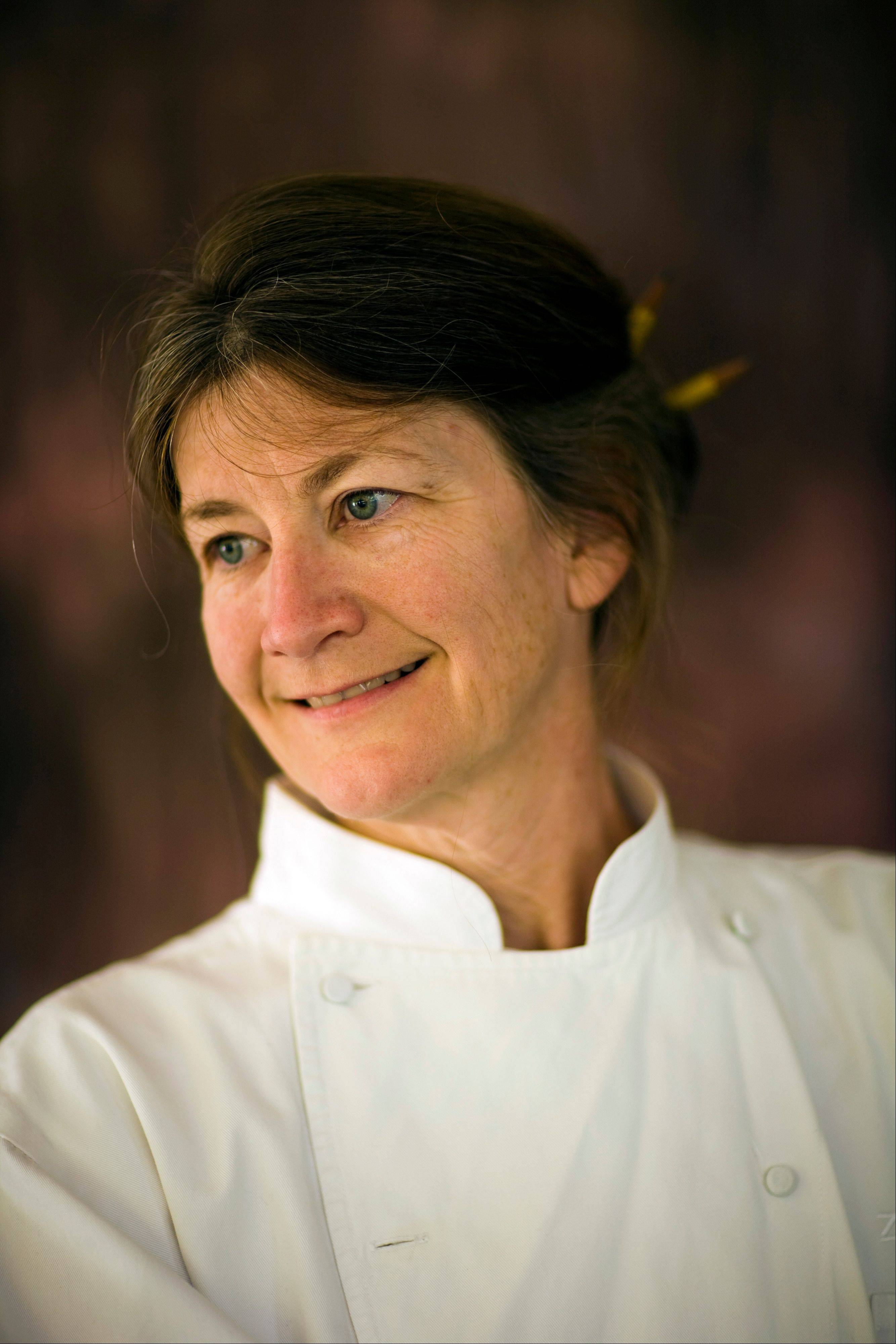 Judy Rodgers, the chef at Zuni Cafe in San Francisco, Calif.