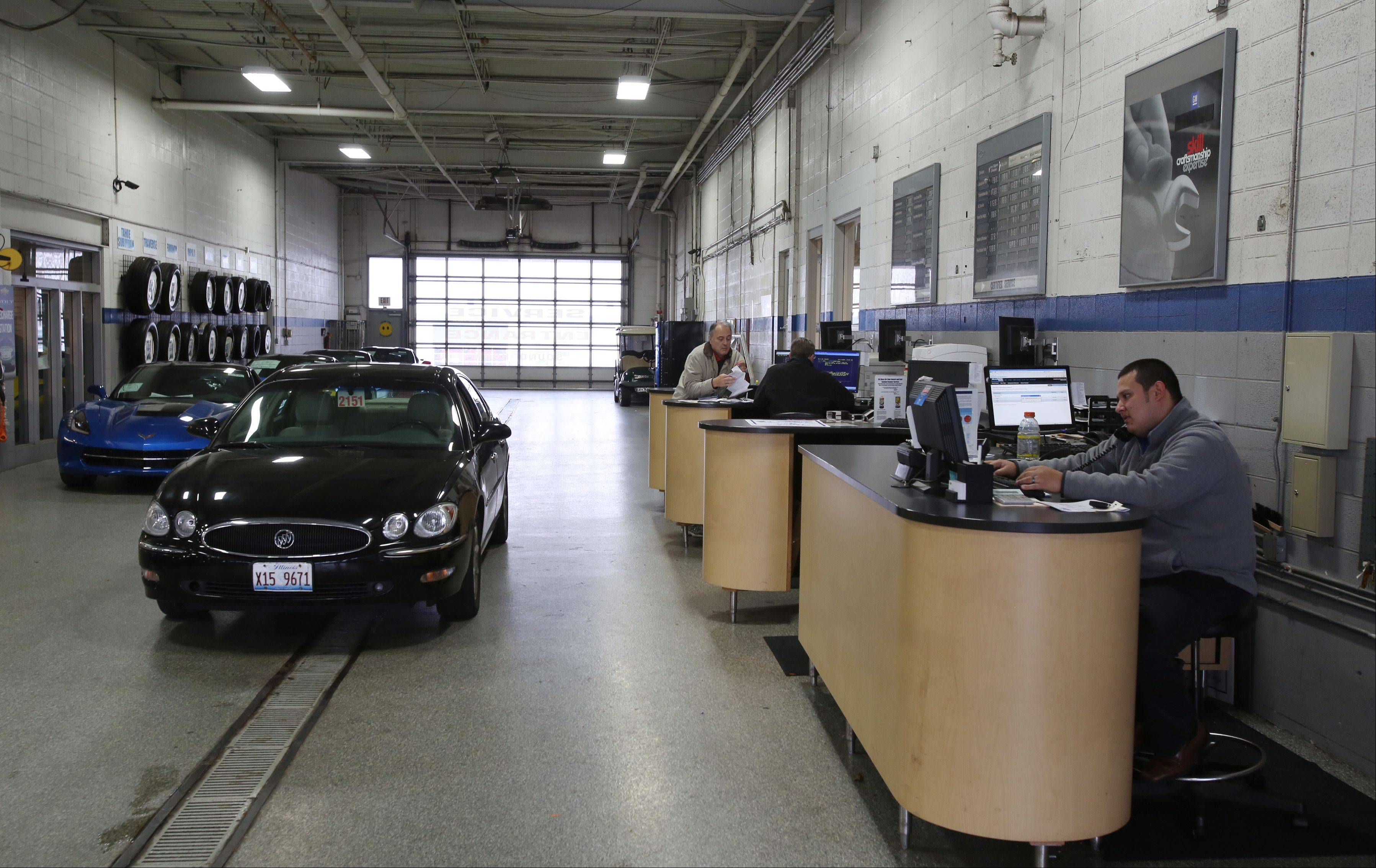 The service department at Biggers Chevrolet offers buyers of new vehicles free car washes for life.