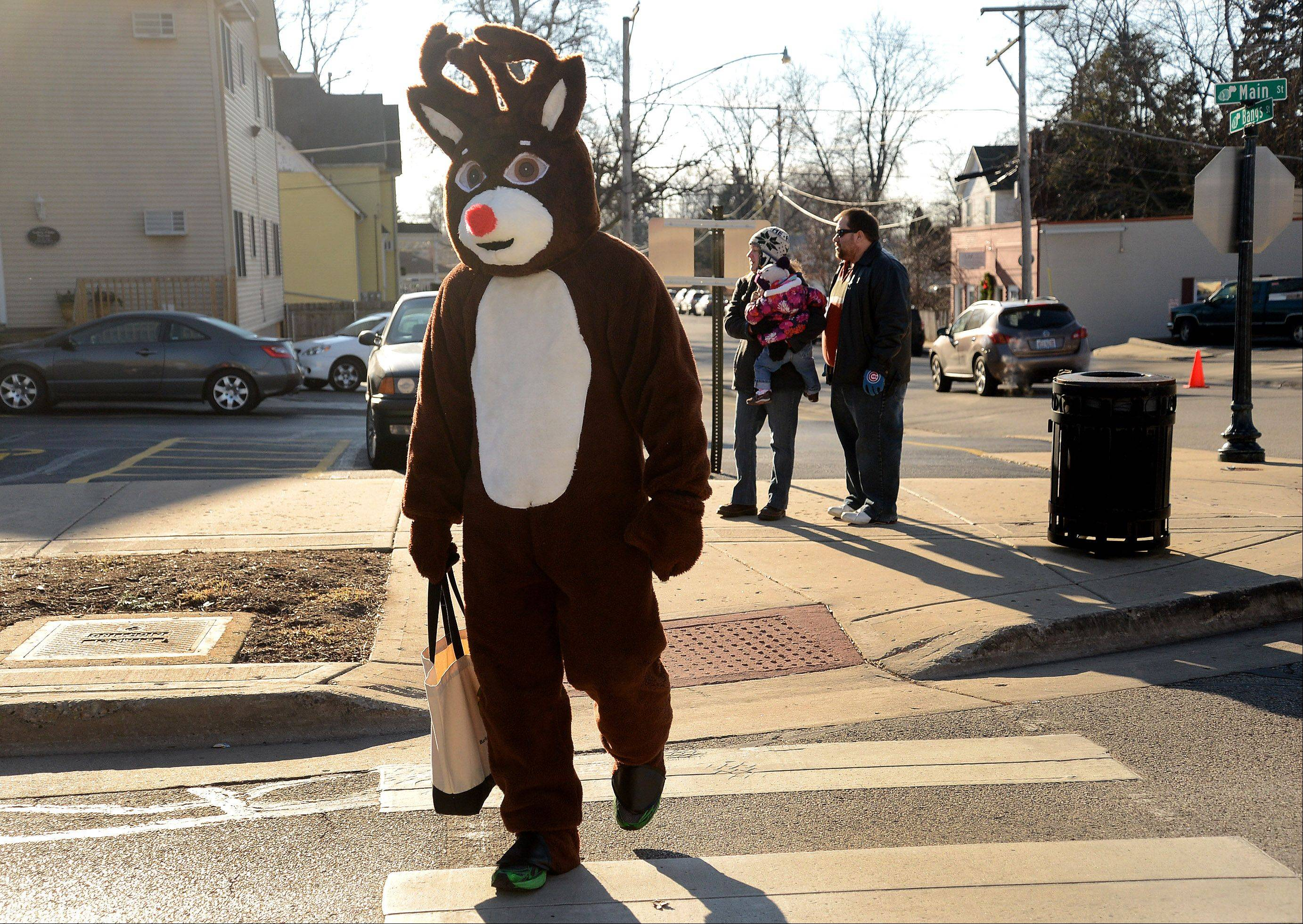 Rudolph arrives Saturday at Wauconda's Holiday Walk.