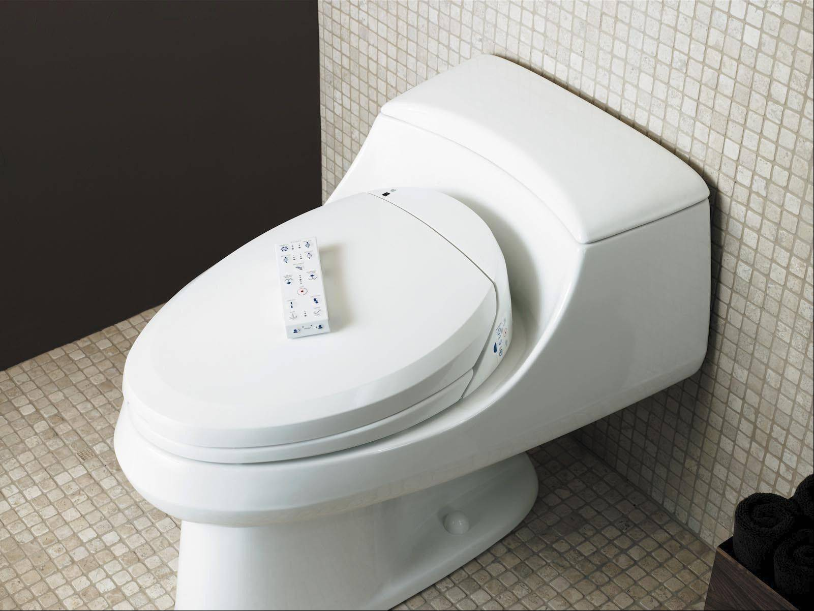Bidet toilet seats are getting a lot of attention these days as American homeowners consider their bathroom-technology options.
