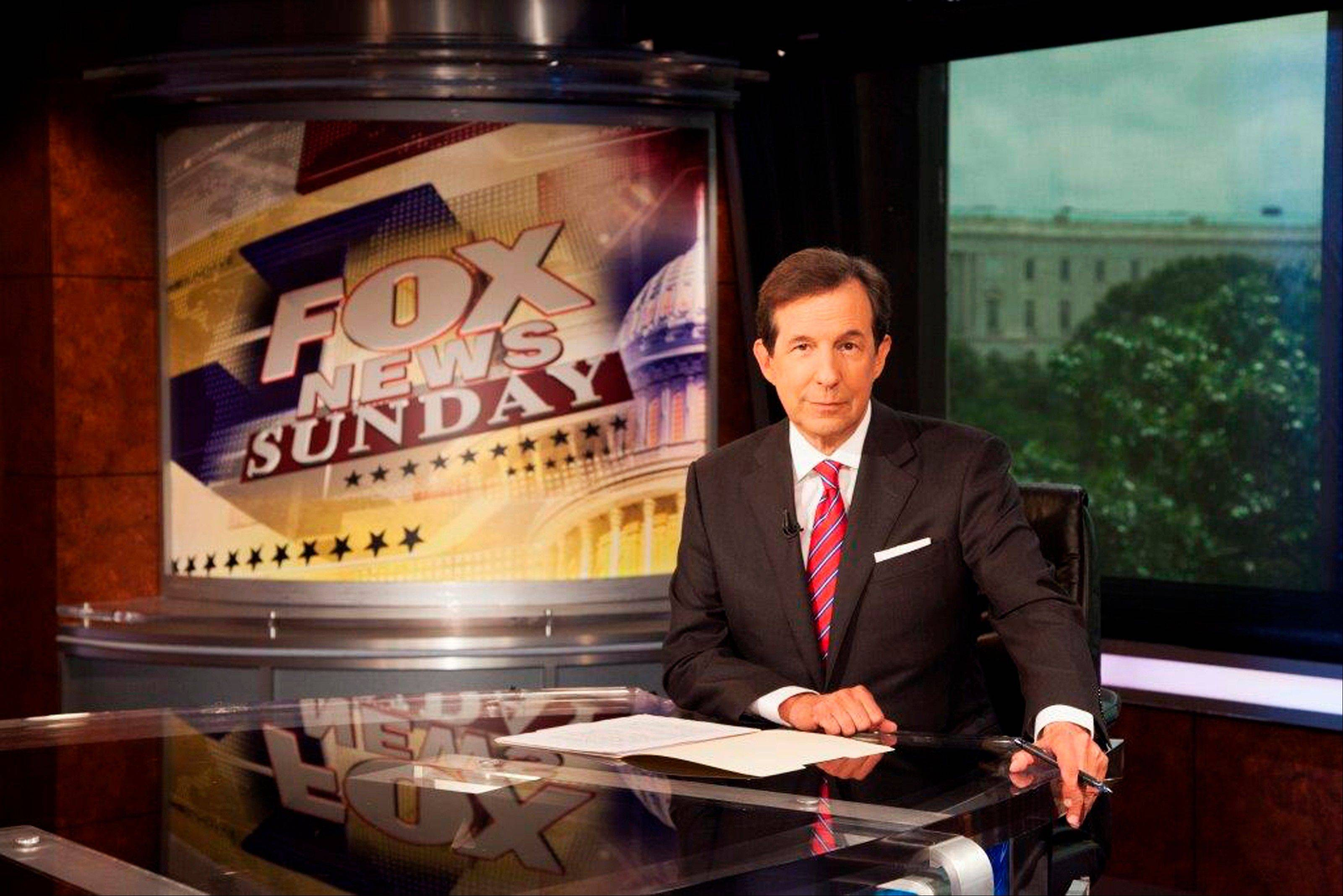 Chris Wallace marks his 10-year anniversary hosting �FOX News Sunday� this weekend.