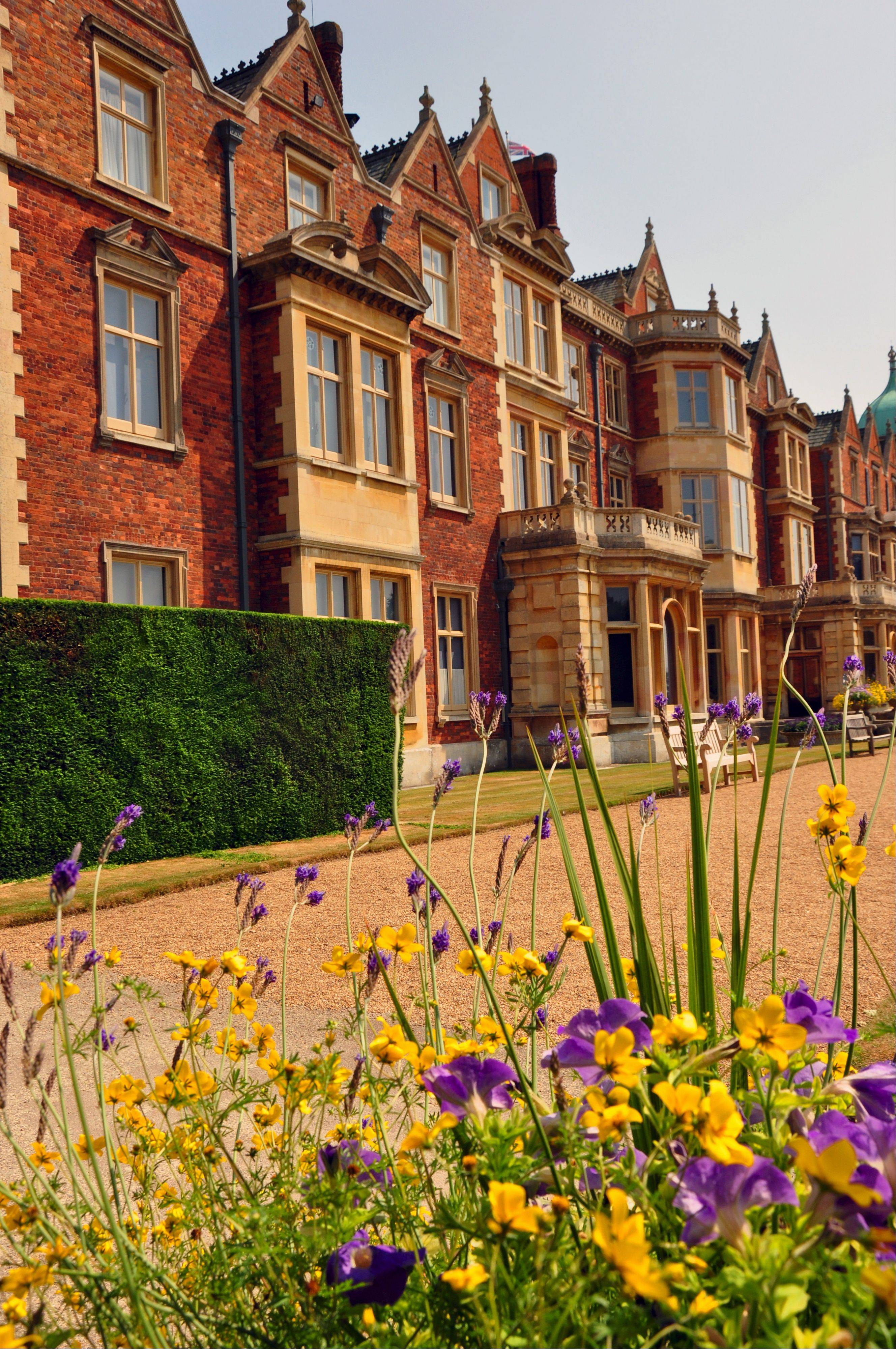 The royal family spends the winter, and especially Christmas, at Sandringham, an estate in Norfolk north of London. From Easter through October, the royals depart and the house is open for public tours.
