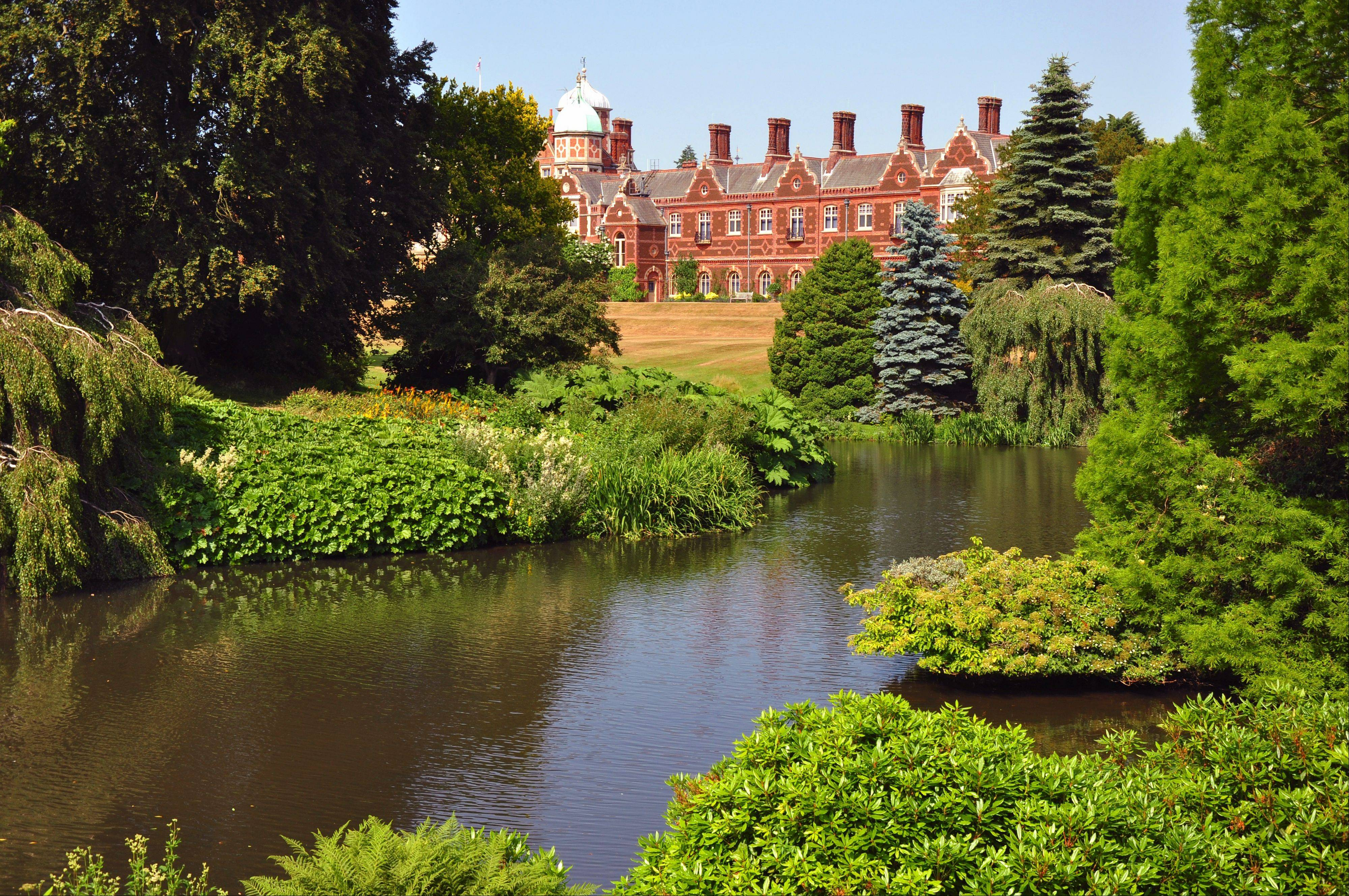 The royal estate of Sandringham covers 20,000 acres, including 60 acres of gardens perfect for a stroll.