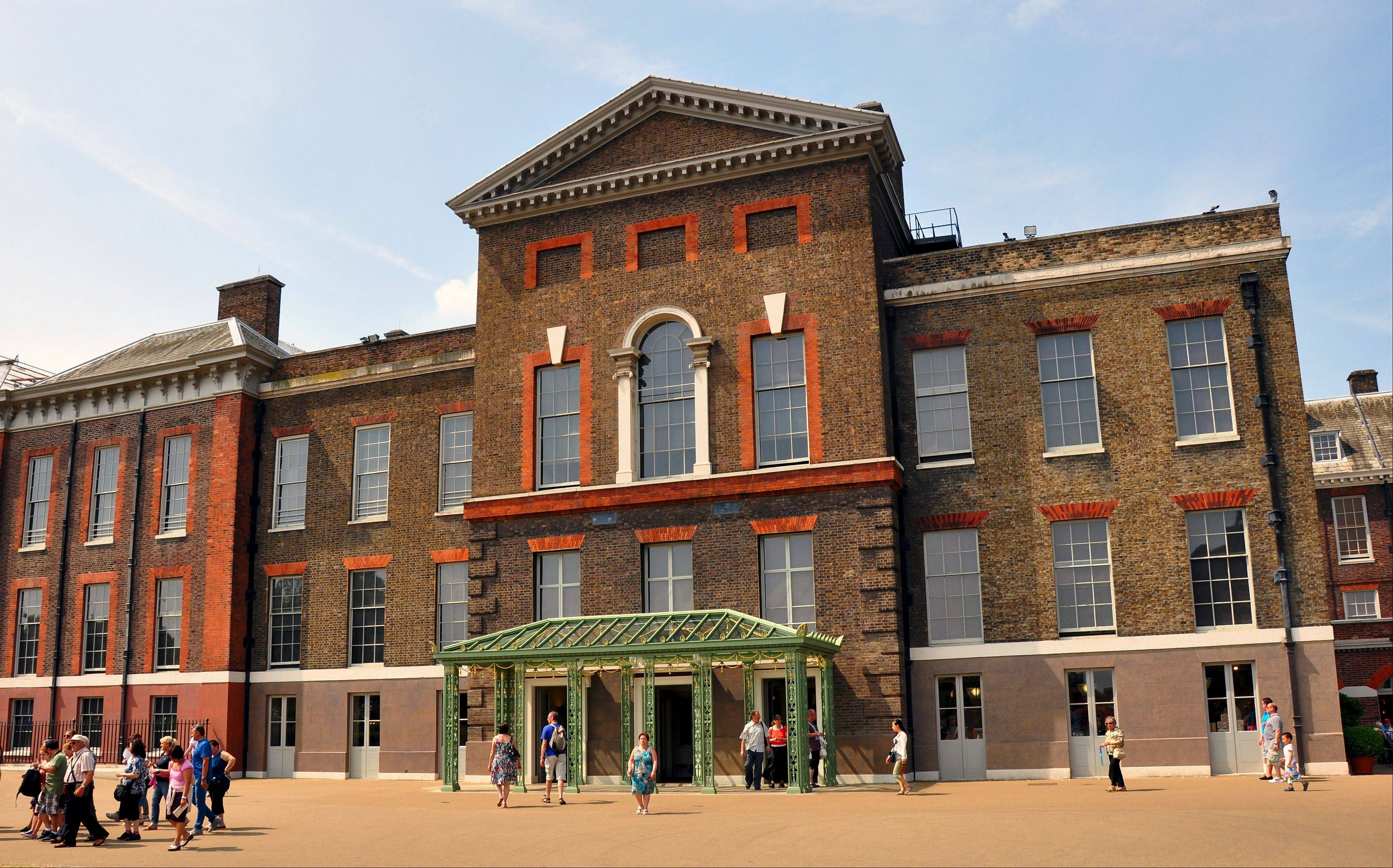 Kensington Palace, where William, Kate and baby Prince George live in London, was built in 1605 and has been in the royal family since 1689. Half of the palace is a museum open to the public.