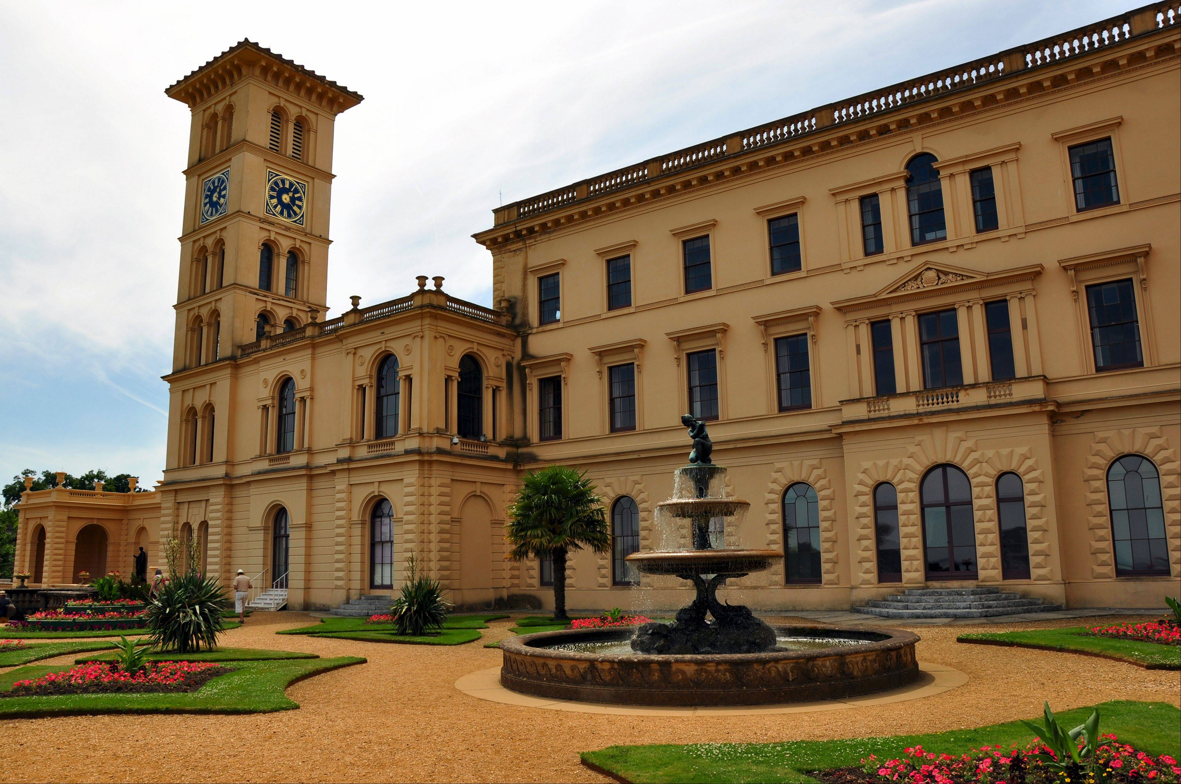 Queen Victoria and Prince Albert often escaped with their nine children for some quality family time at Osborne House on the Isle of Wight.