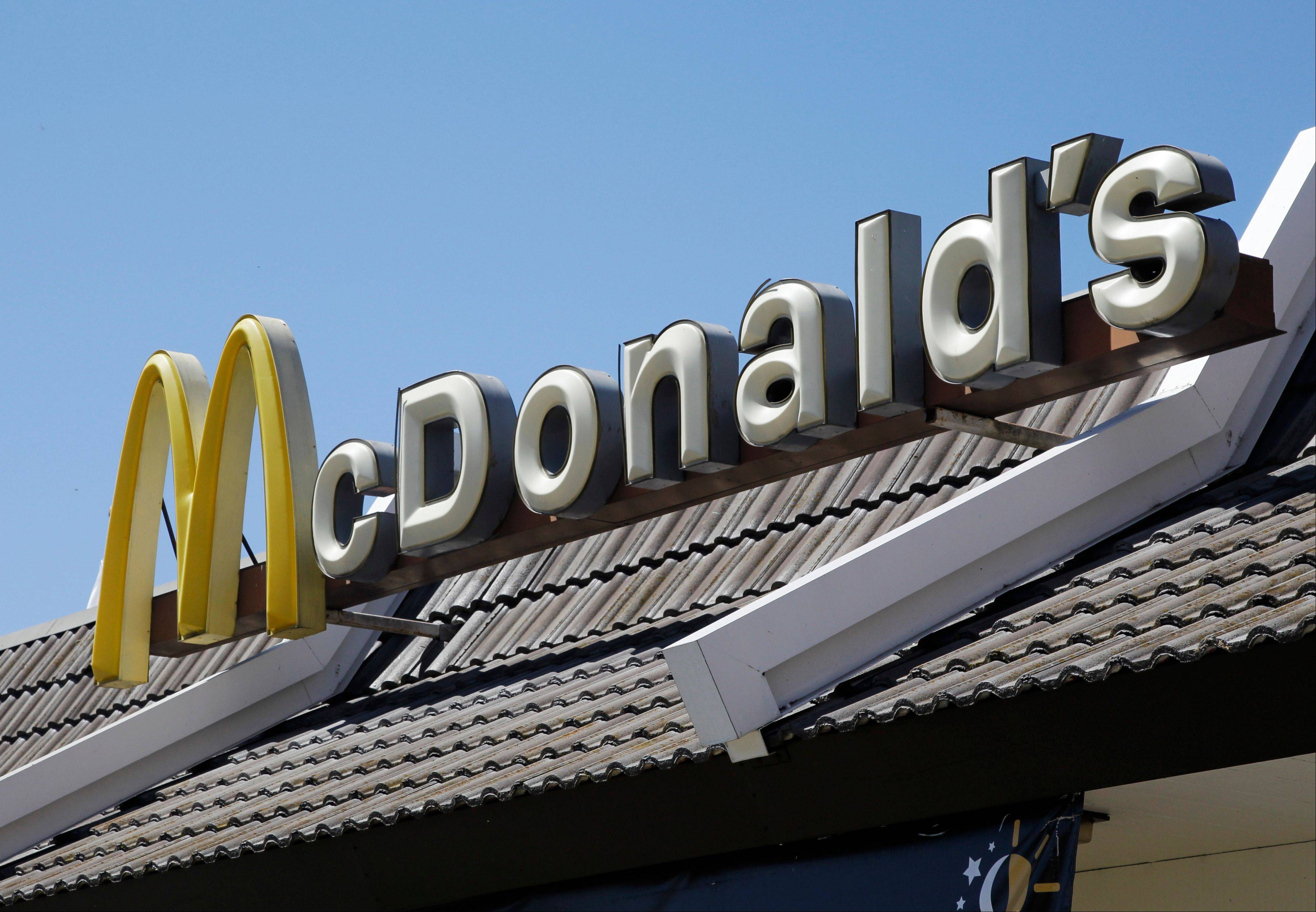 ASSOCIATED PRESS Oak Brook-based McDonald�s said Monday that a key sales figure rose 0.5 percent in November, even as the world�s biggest hamburger chain faced tough competition and basically flat traffic in the U.S.