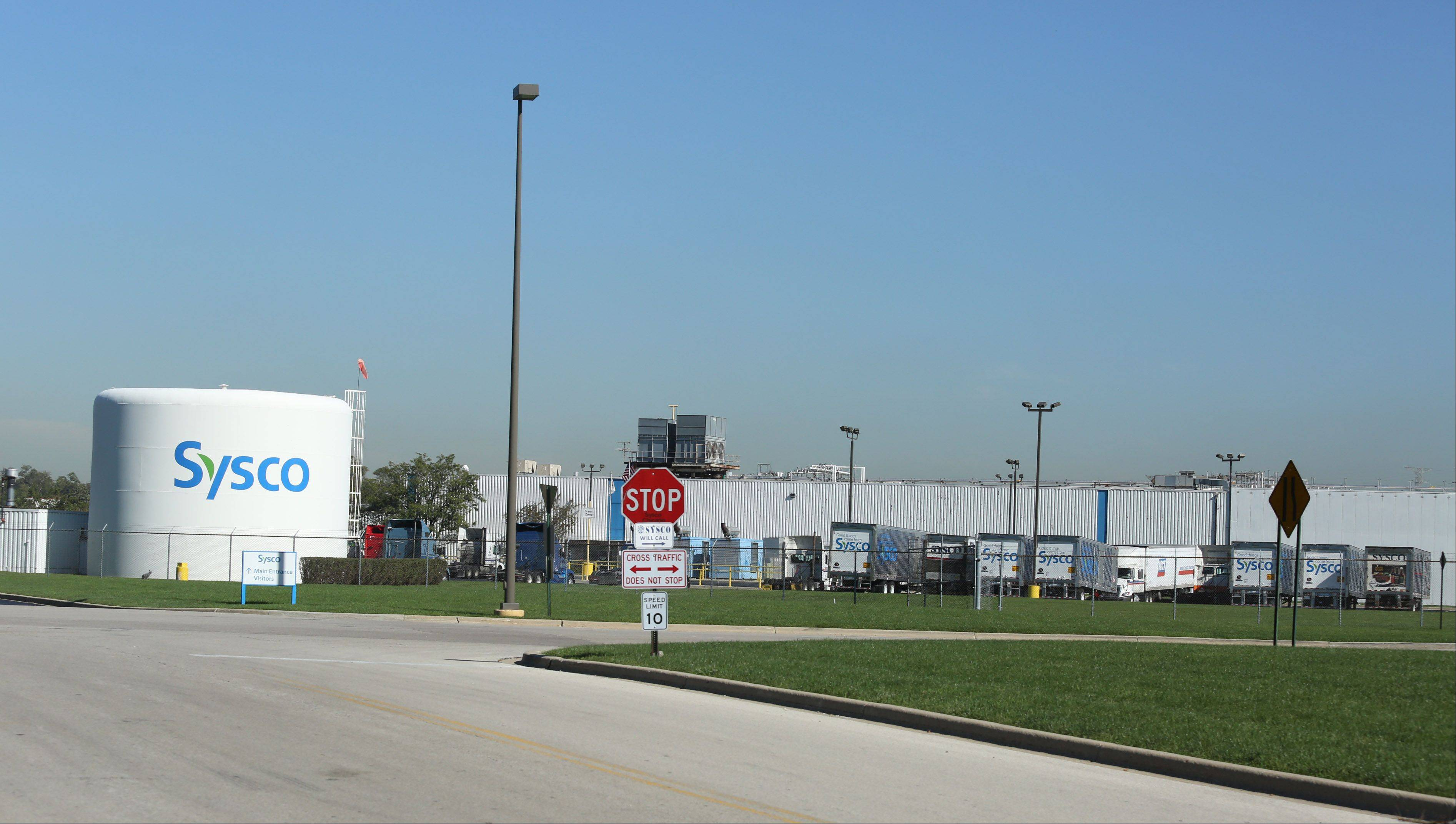 Sysco has local facilities in Des Plaines.