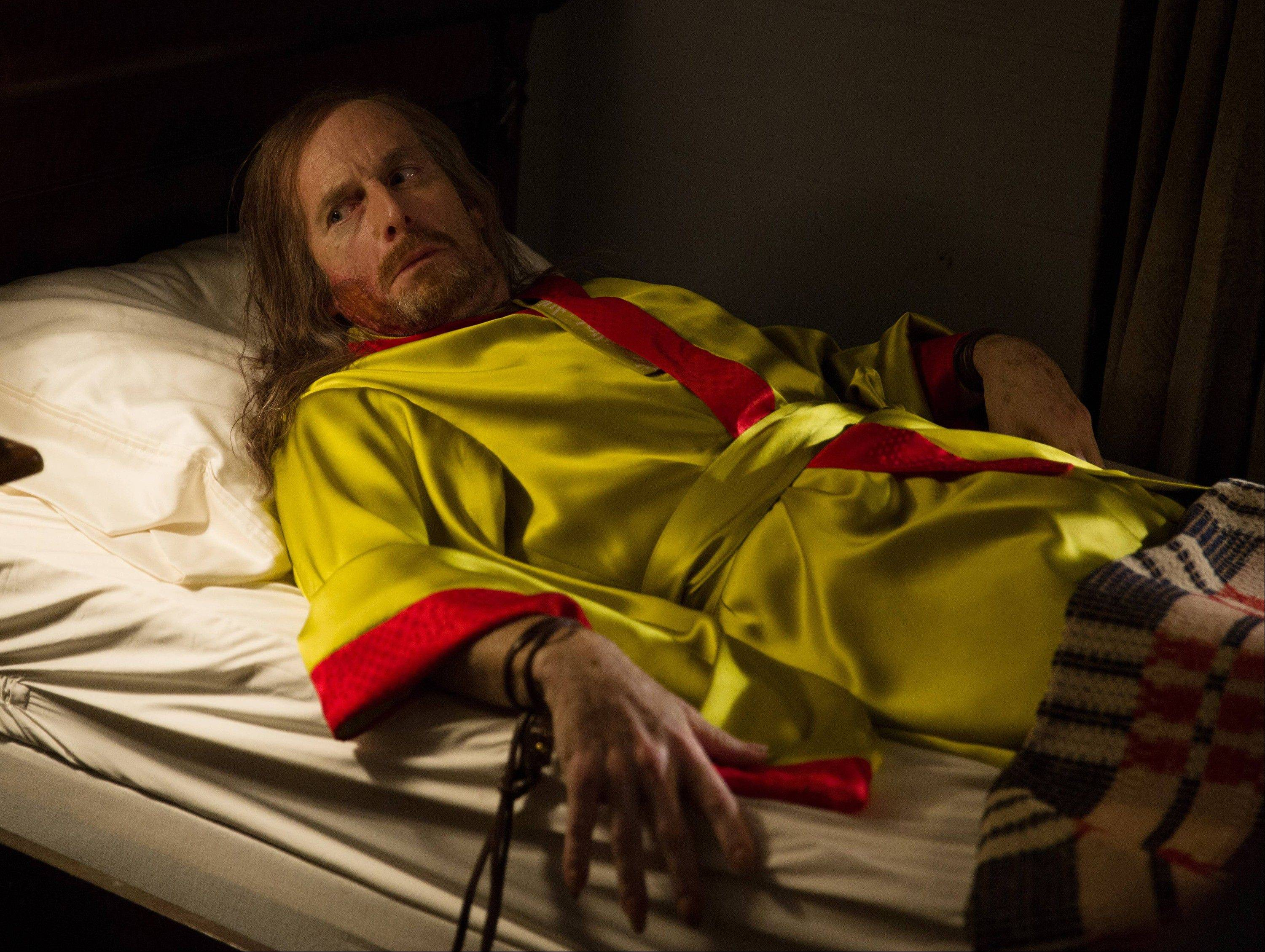 This photo provided by FX shows Denis O�Hare as Spalding in a scene from FX�s �American Horror Story: Coven.�