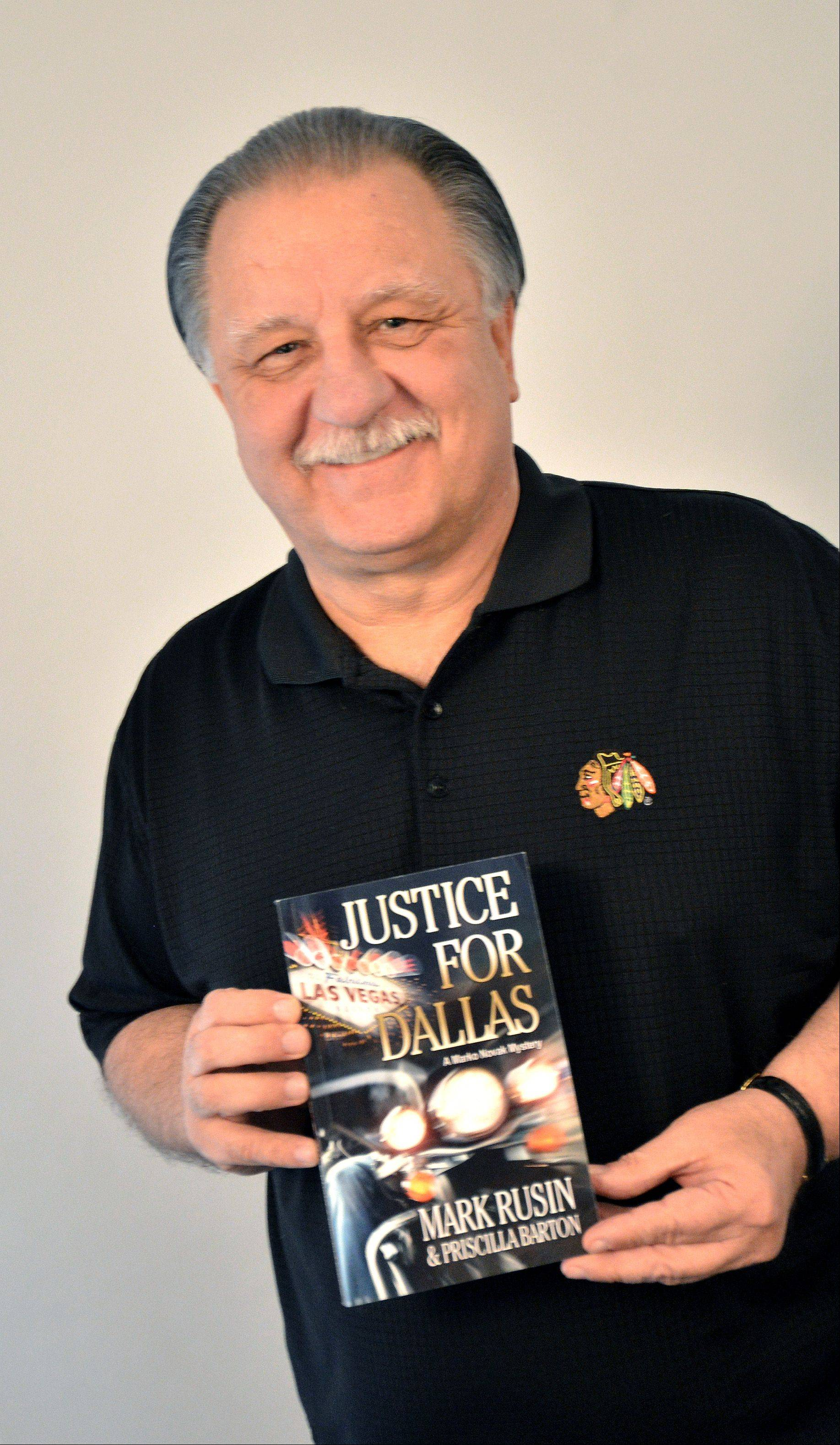 Lombard resident Mark Rusin, a former agent with the Bureau of Alcohol, Tobacco, Firearms and Explosives, has turned his experiences into a crime novel called �Justice for Dallas.� The book is getting good reviews from former colleagues and readers for its fast-paced action and authenticity.