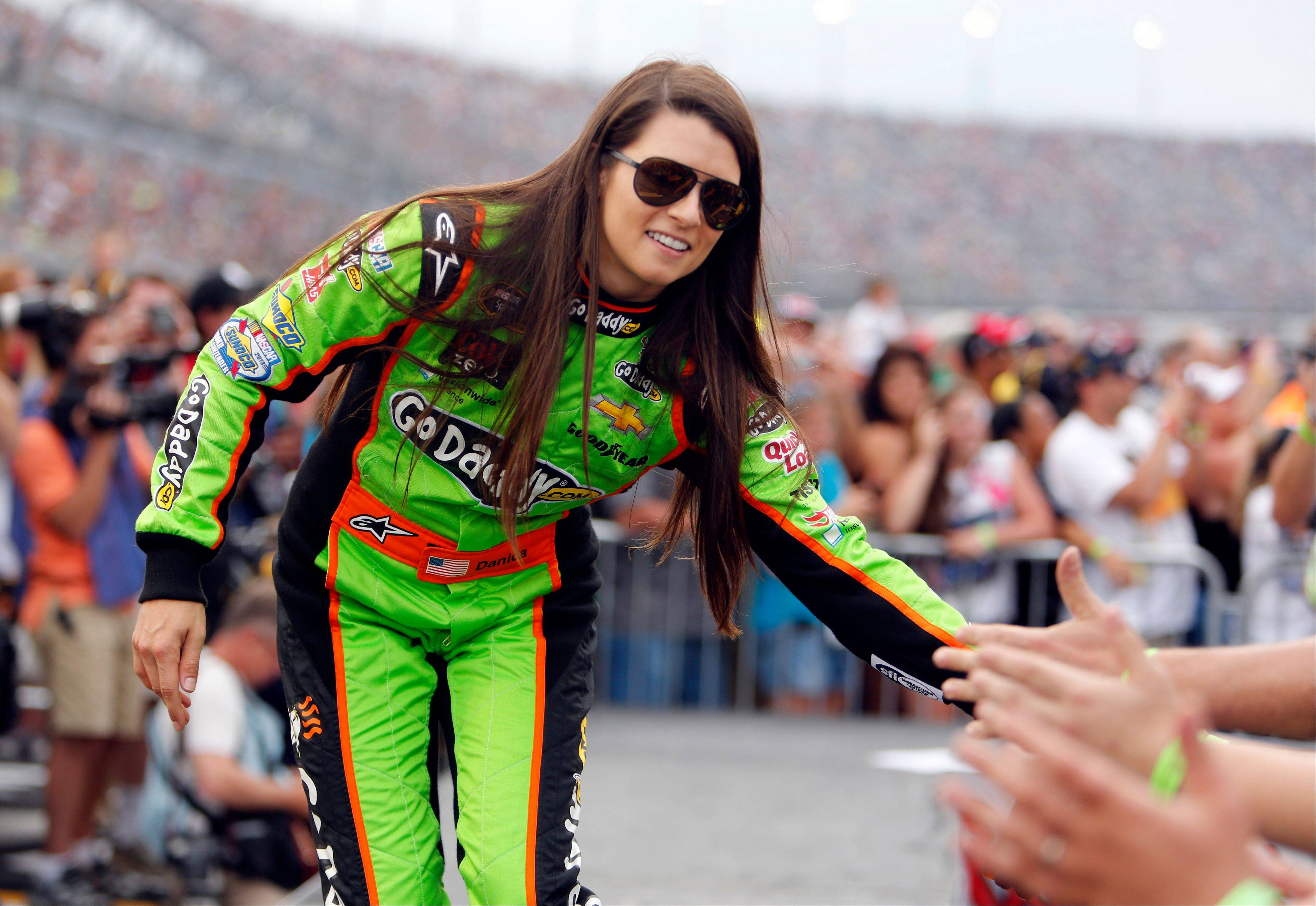 New country music fan Danica Patrick will co-host the American Country Awards Tuesday on FOX with Trace Adkins.