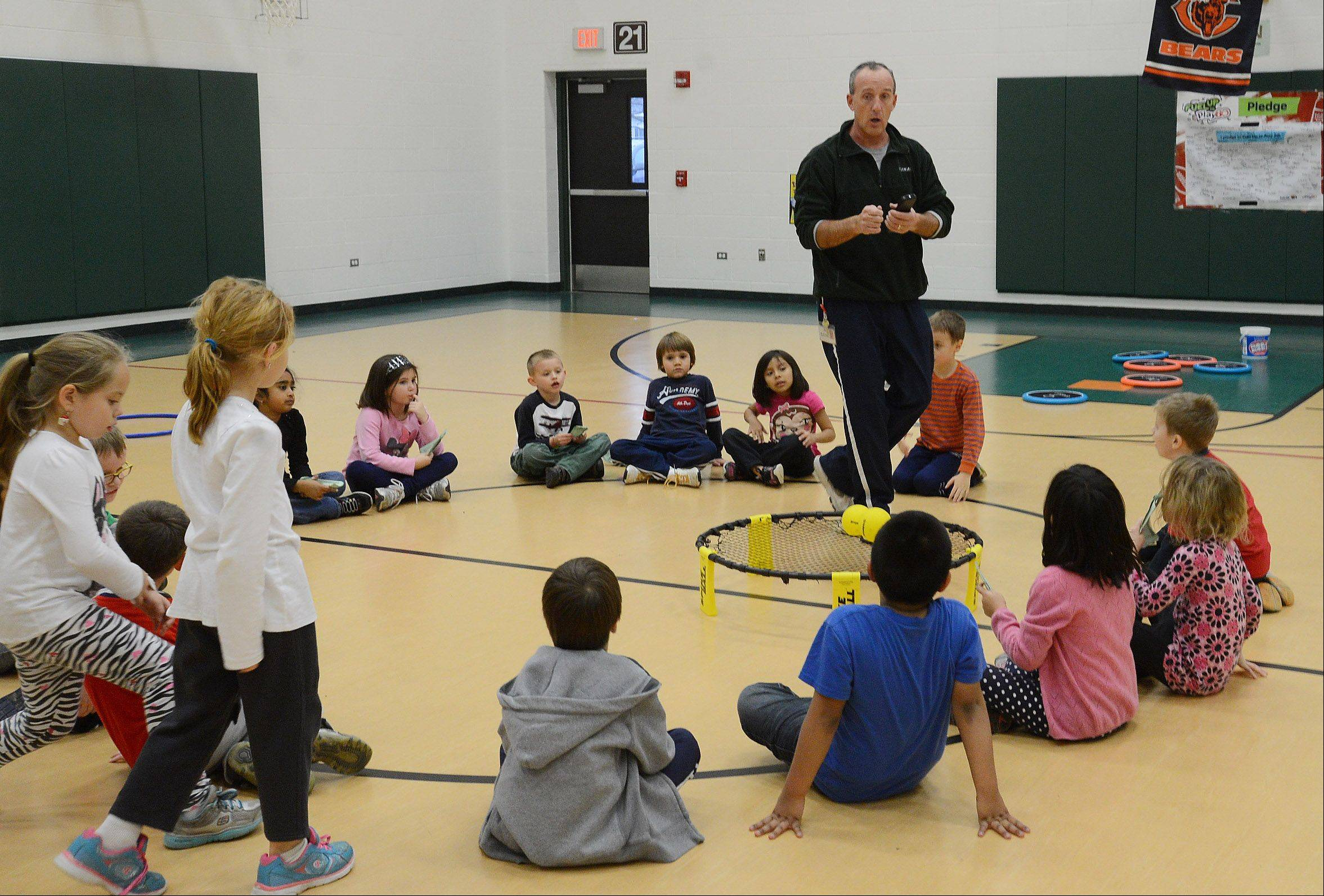 "Ridge Family Center for Learning physical education teacher Will Hogan says P.E. classes today are just as important for ""the kid who is great at reading but not fit,"" as it is for ""the kid who's fit, but not great at reading."""