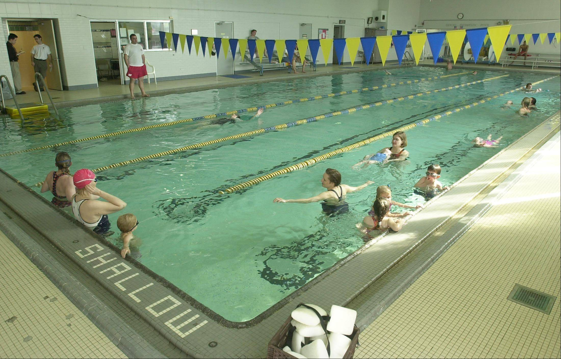 Children and adults can learn to swim at the B.R. Ryall YMCA facility in Glen Ellyn, which also offers a swim team and water fitness.