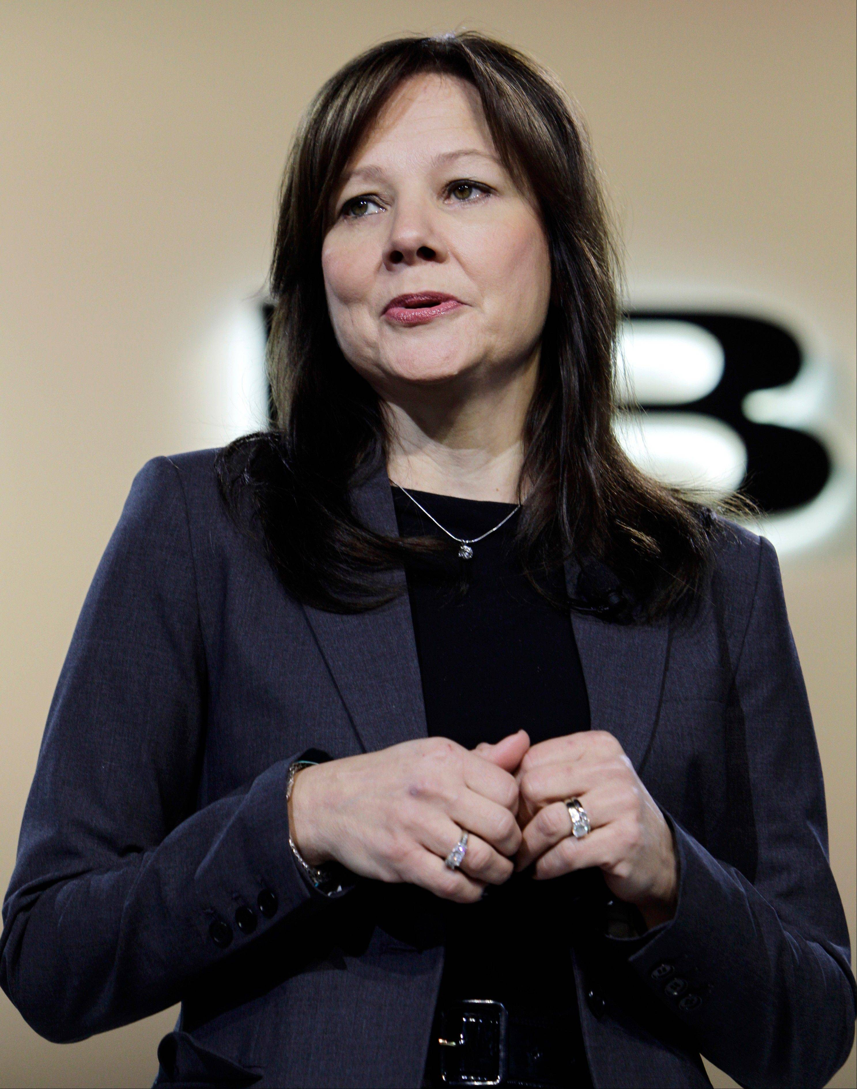 Mary Barra, formerly General Motors' senior vice president, Global Product Development, will be the company's next CEO.