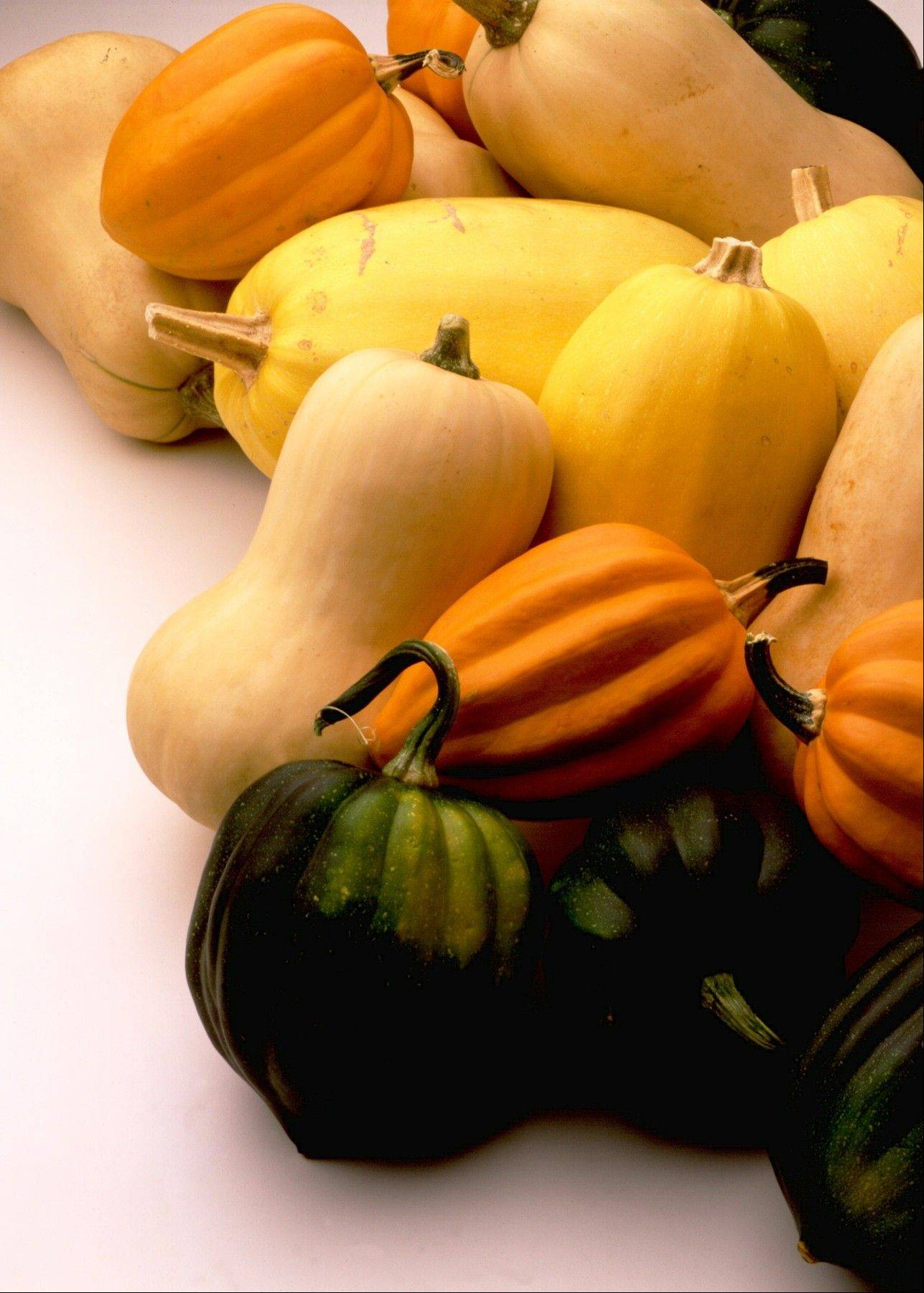 Winter squash comes in a number of varieties and each is packed with nutrients and fiber.