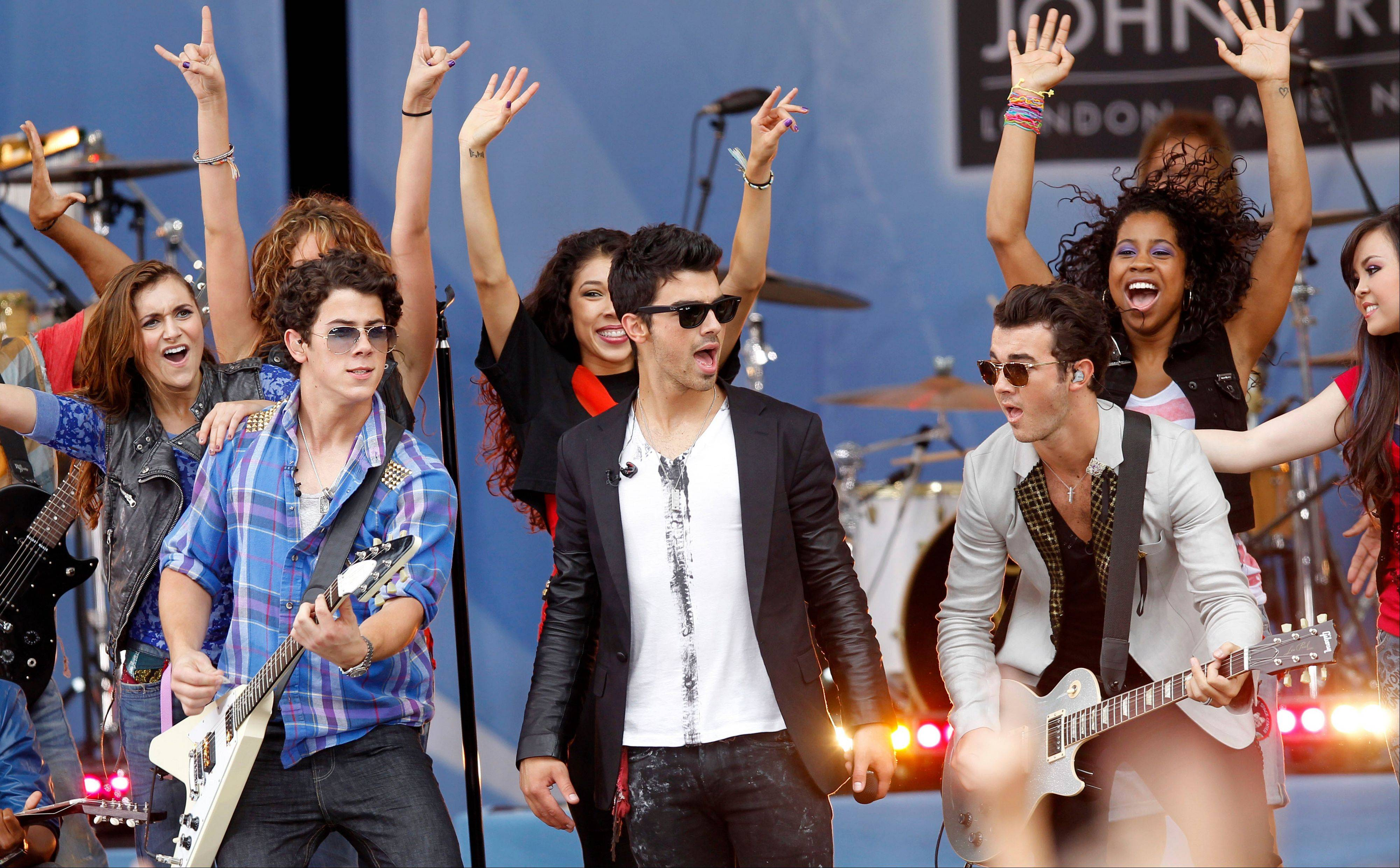 The Jonas Brothers -- Nick, left, Joe and Kevin -- will perform at the Allstate Arena in Rosemont during the 2013 Jingle Bash.