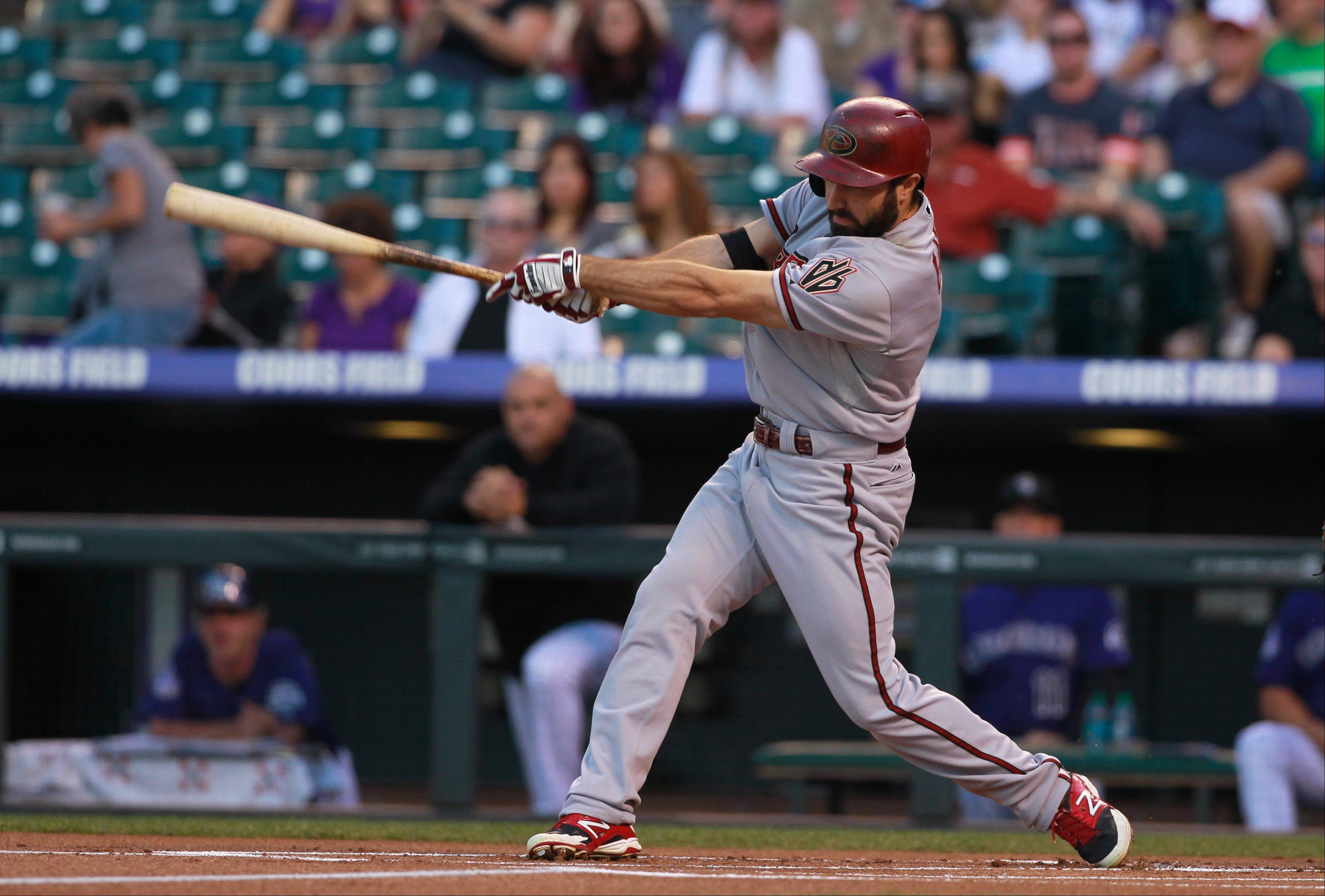 The White Sox get a much-needed left-handed hitter in a three-team trade with Arizona and the L.A. Angels. The Sox gave up pitcher Hector Santiago and get 25-year-old center fielder Adam Eaton from the Diamondbacks.