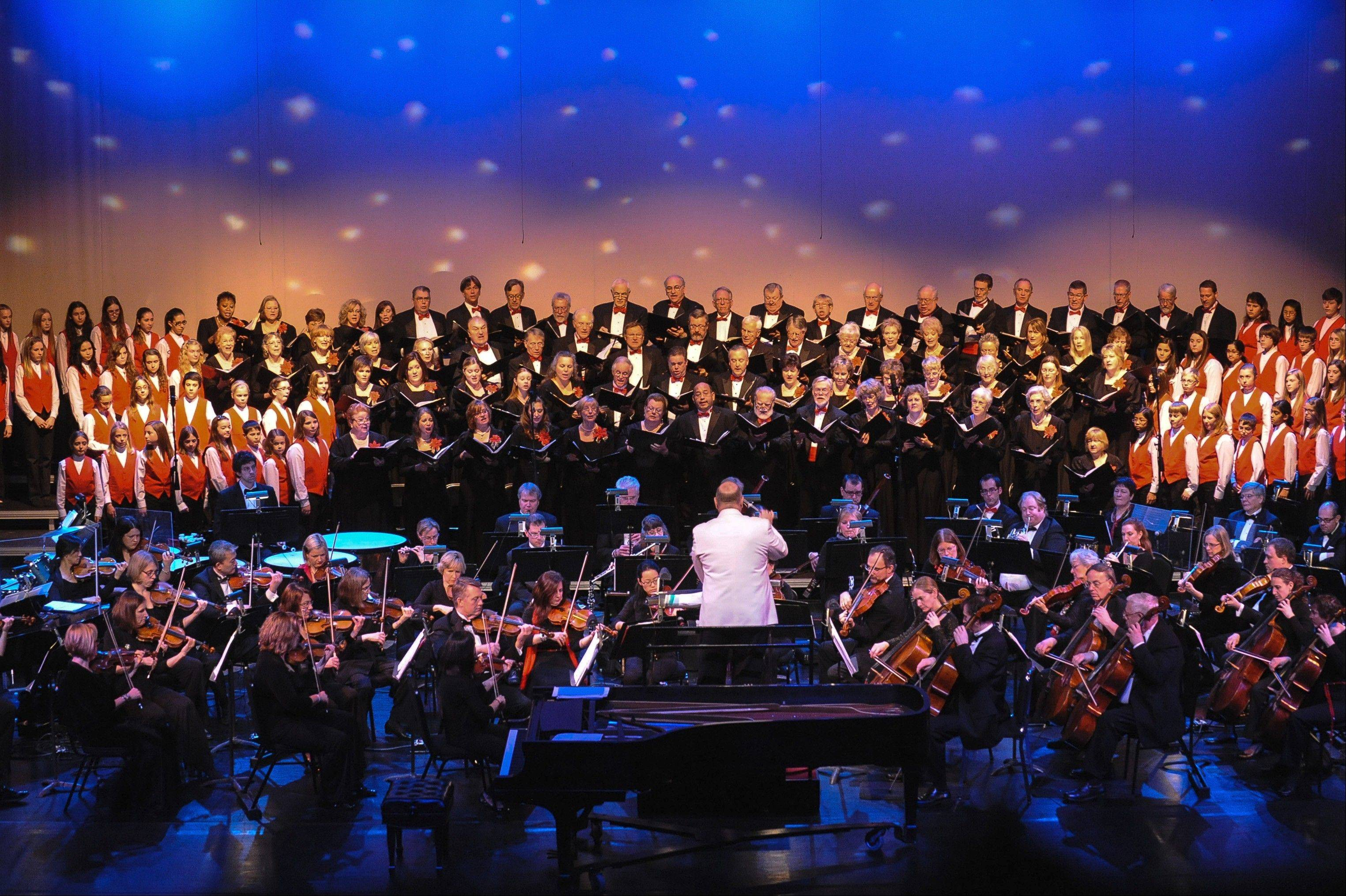 The orchestra will join with the Elgin Choral Union and Elgin Children's Chorus to bring holiday favorites to the audience.