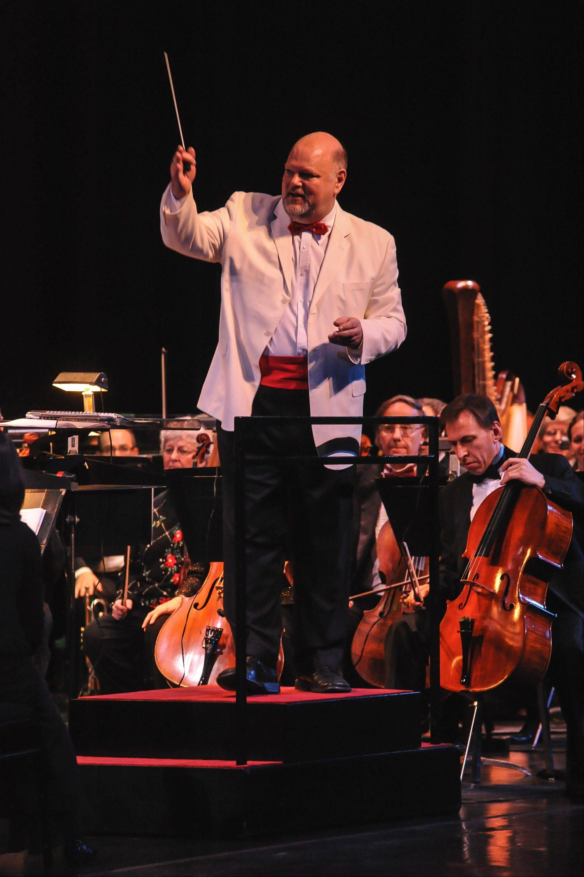 Stephen Squires will conduct the Elgin Symphony Orchestra's Magical Holiday Concerts this weekend at the Hemmens.