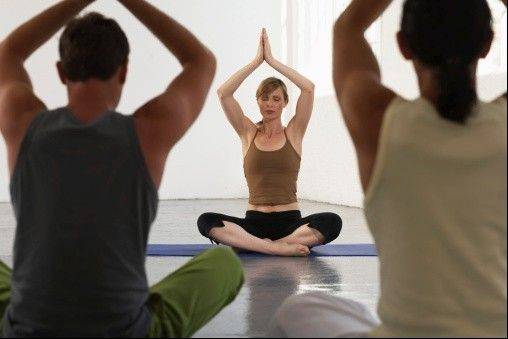 The Chicago Department of Aviation announced Tuesday that the airport yoga room is open on the mezzanine level of the Terminal 3 rotunda at O'Hare. The department also plans to open a yoga room at the city's Midway International Airport in the near future.