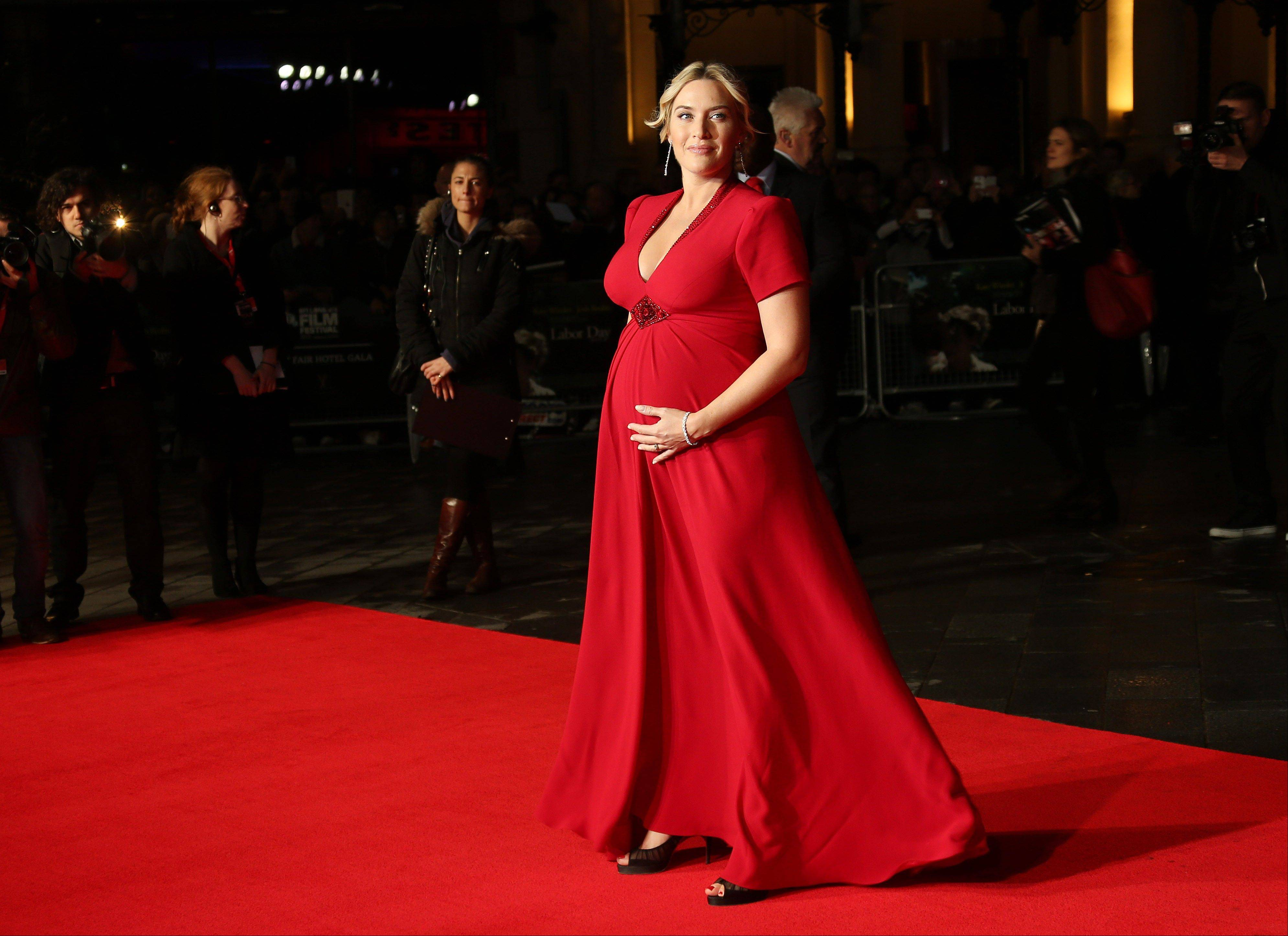 A spokeswoman for Kate Winslet says the actress has given birth to a son and is �doing great.�