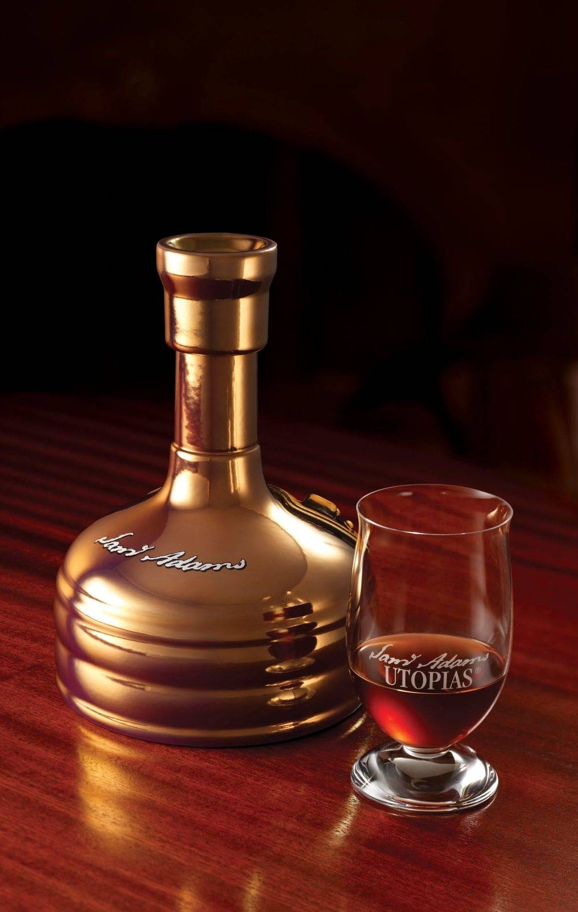Fewer than 15,000 bottles of Sam Adams Utopias were brewed this year.