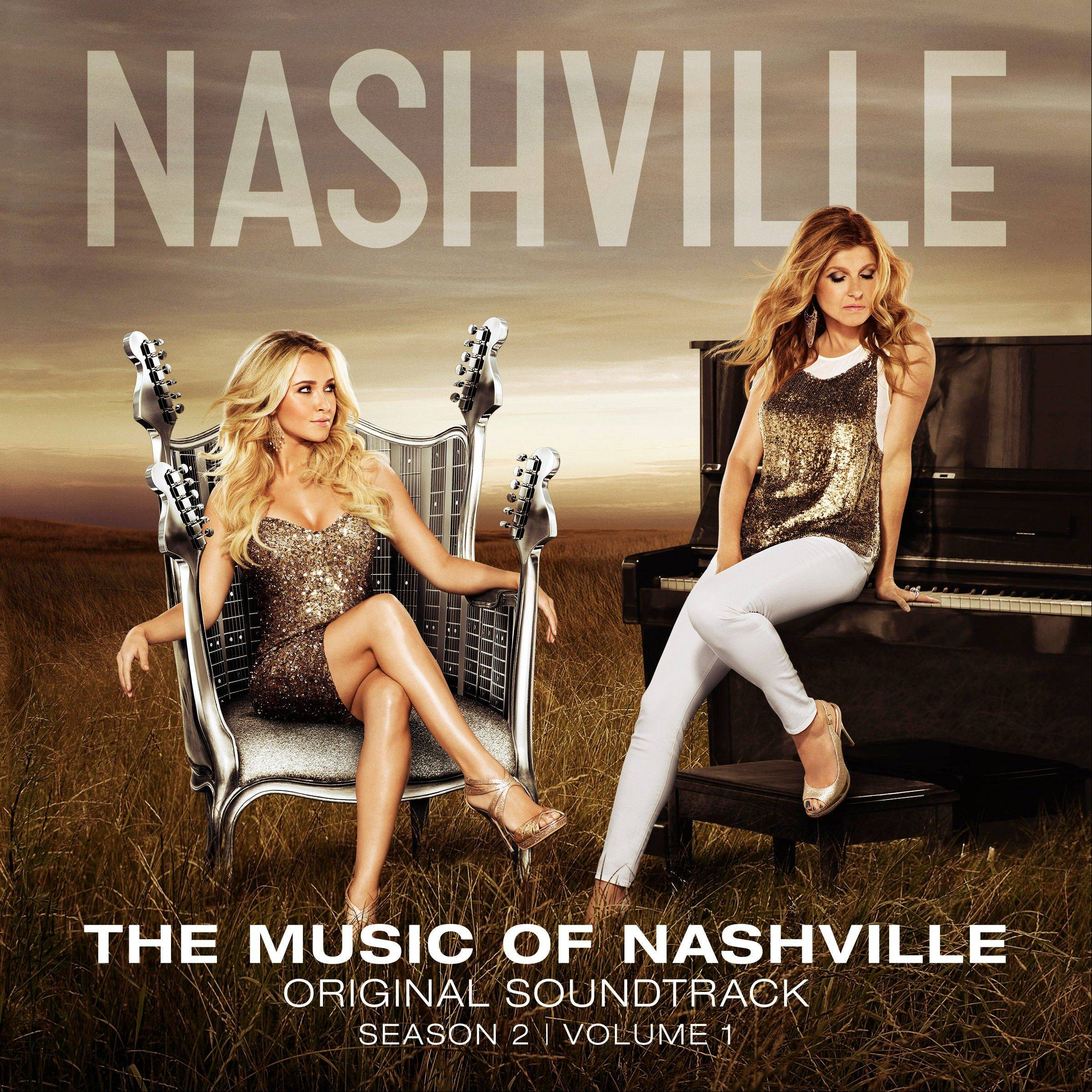 """The Music of Nashville, Season 2, Volume 1"" includes songs from leads Hayden Panettiere and Connie Britton."