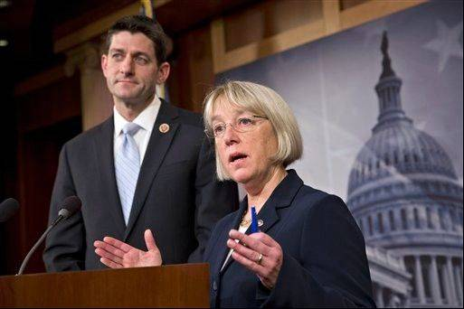 House Budget Committee Chairman Paul Ryan and Senate Budget Committee Chairwoman Patty Murray announced a tentative agreement between Republican and Democratic negotiators on a government spending plan Tuesday evening.