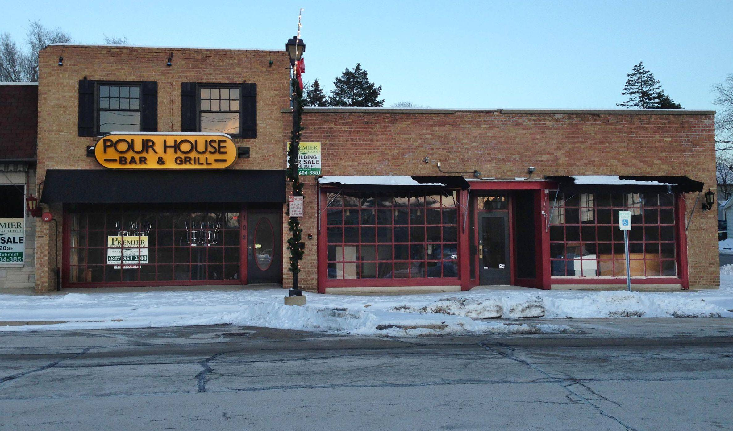 George Arsoniadis, a local restaurateur, is in talks to buy and turn the former Pour House and the former Puzzle Dust Cafe into a sit-down restaurant and bar called Bootleggers Speakeasy on River Road in downtown East Dundee. He is seeking financial assistance from the village for the purchase and renovation of both properties.