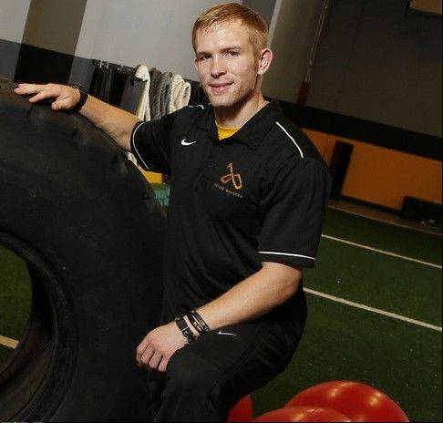 Naperville's Steve Hlavac is combining his passion for fitness and training to launch his career and help others.