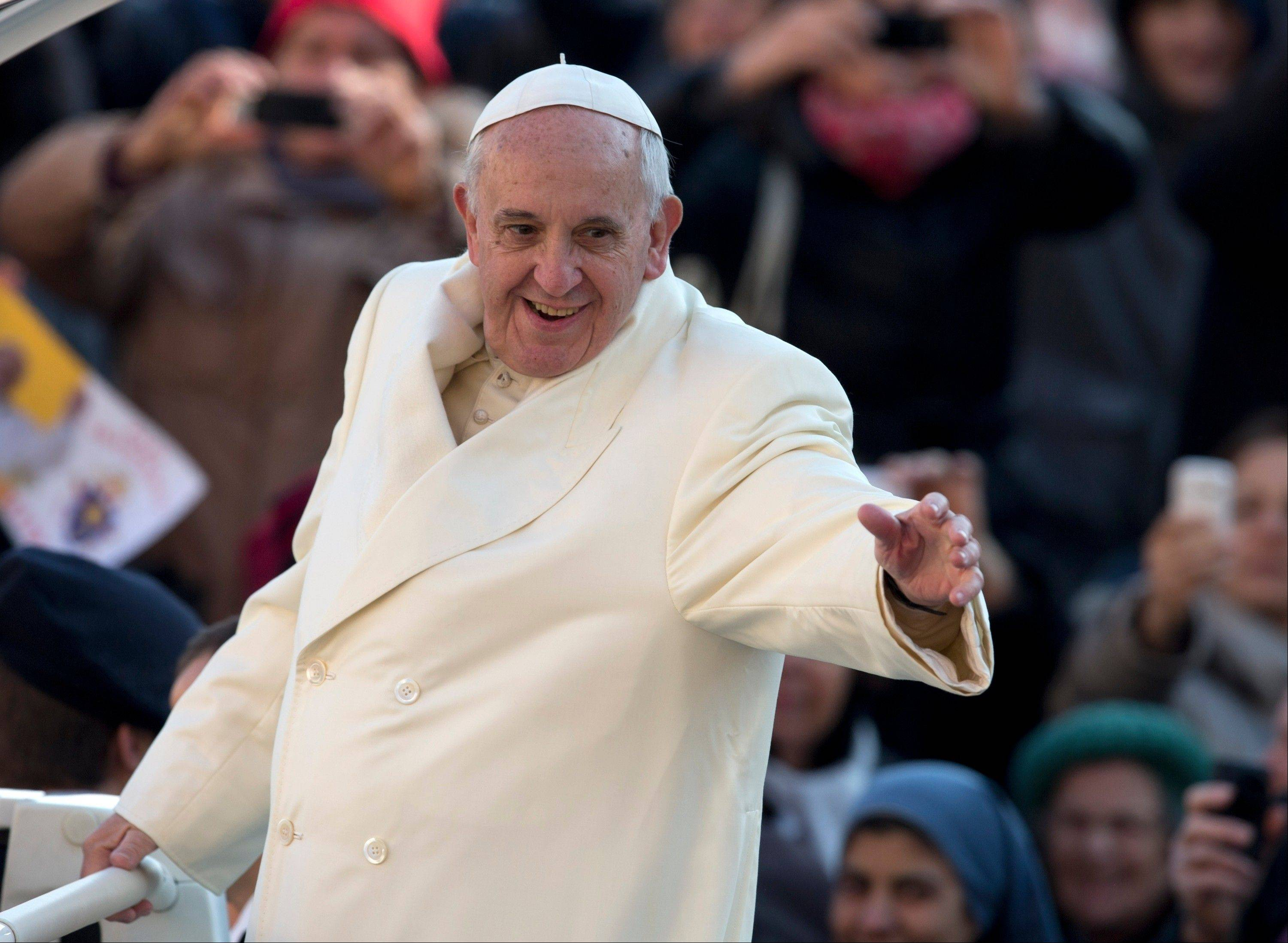 Pope Francis has been selected by Time magazine as the Person of the Year.