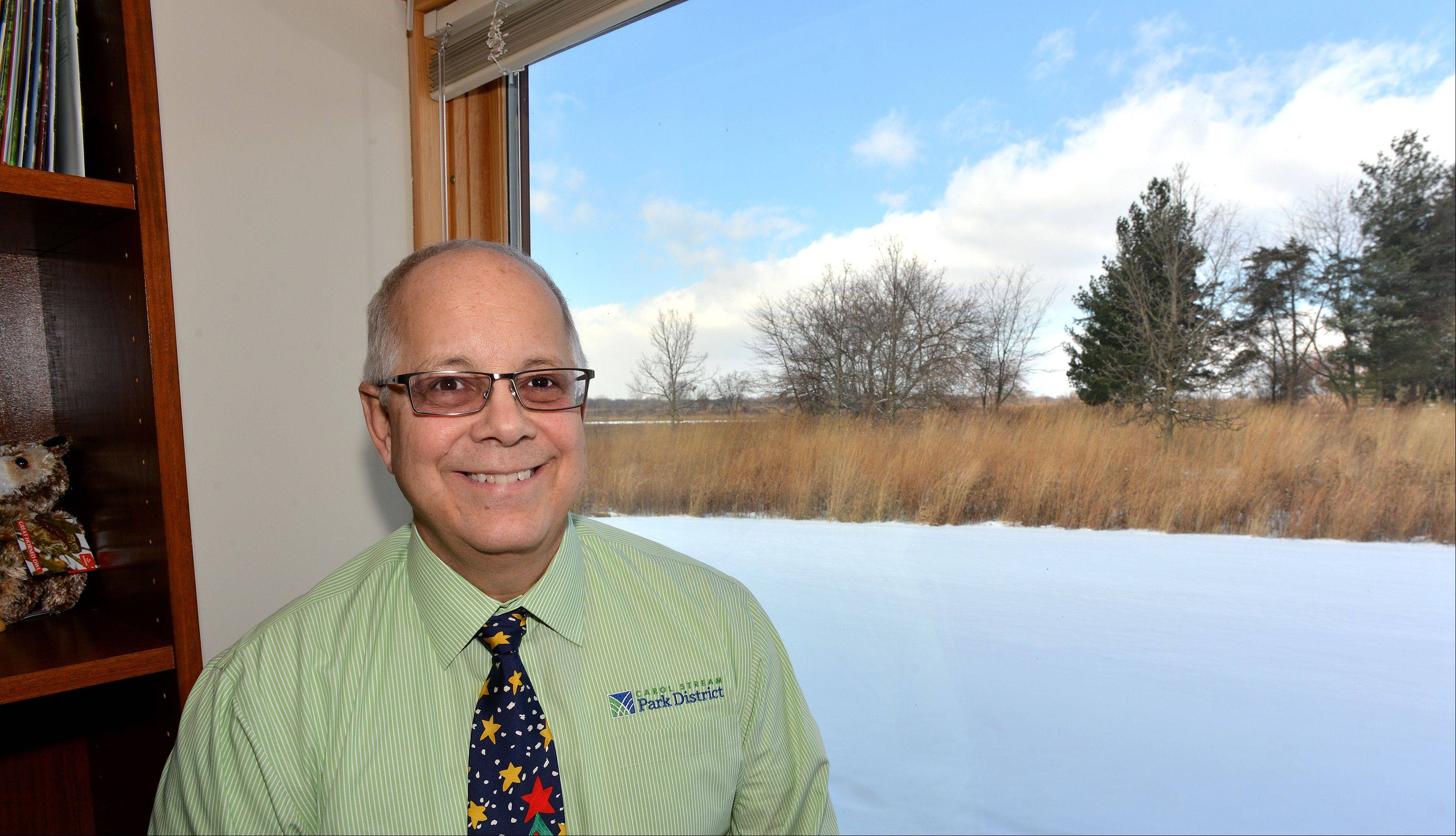 Arnie Biondo has been named executive director of the DuPage County Forest Preserve District. He will assume his new duties in January.