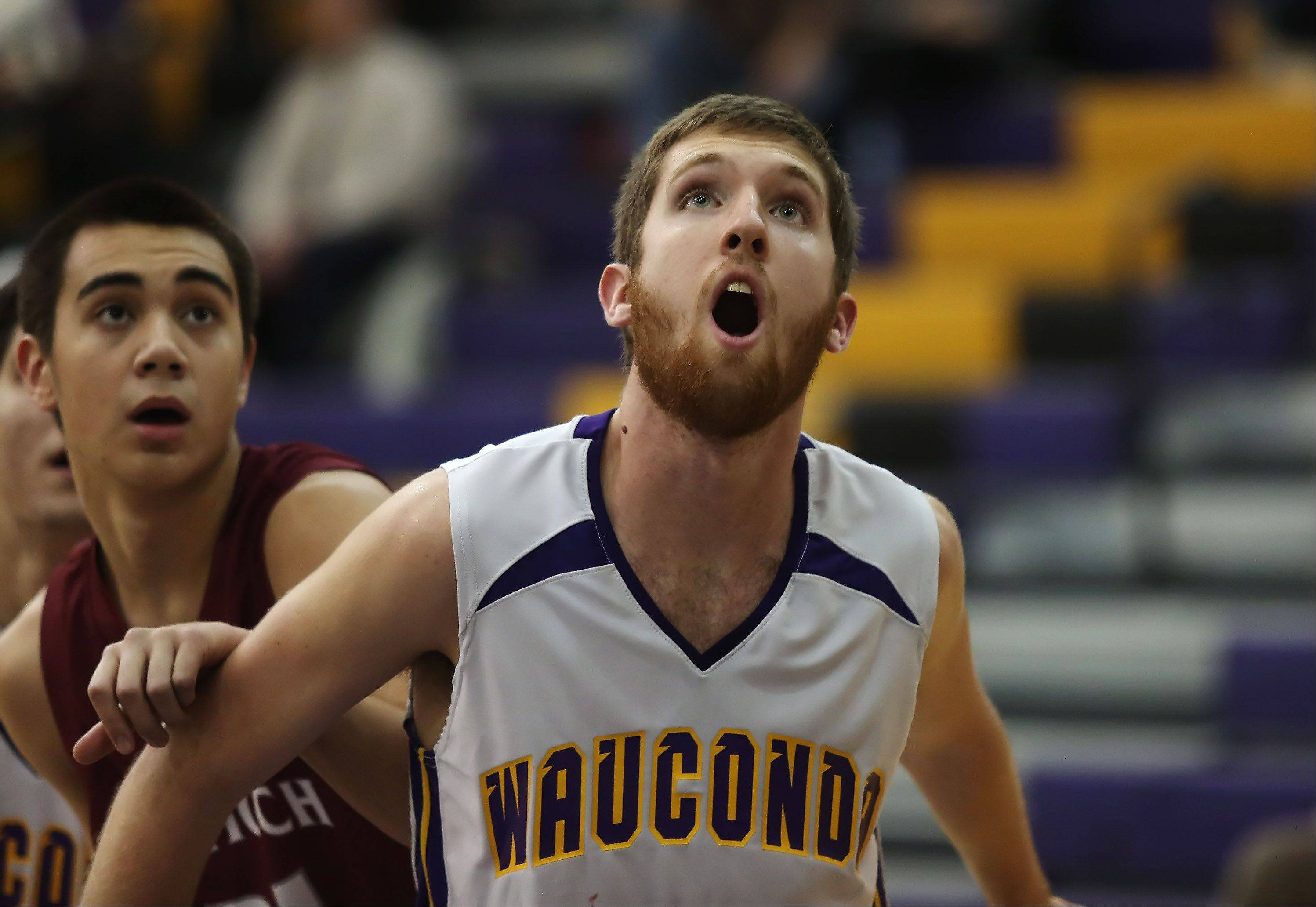 Cross country has helped Wauconda forward Ricky Sidlowski prepare for the basketball season.